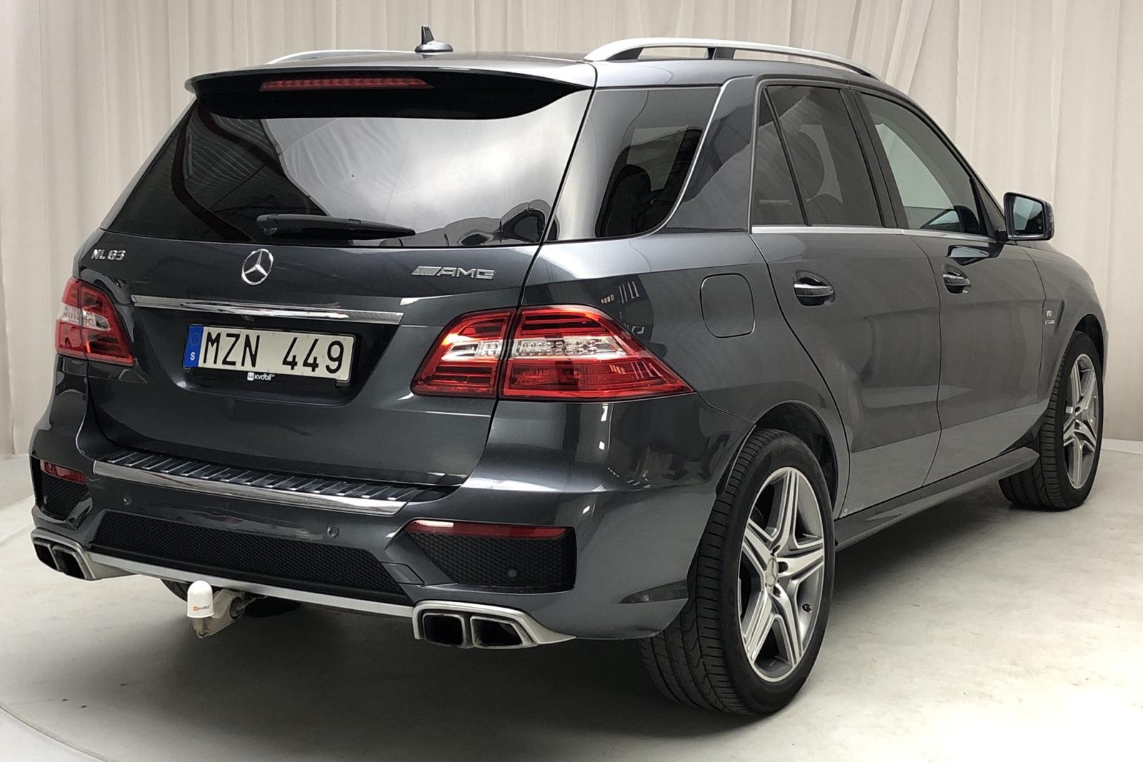 Mercedes ML 63 AMG Performance Package W166 (558hk) - 86 000 km - Dark Grey - 2013