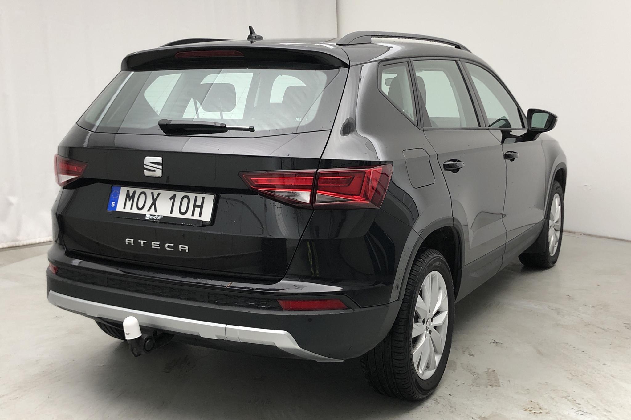 Seat Ateca 1.6 TDI (115hk) - 900 mil - Manuell - svart - 2019