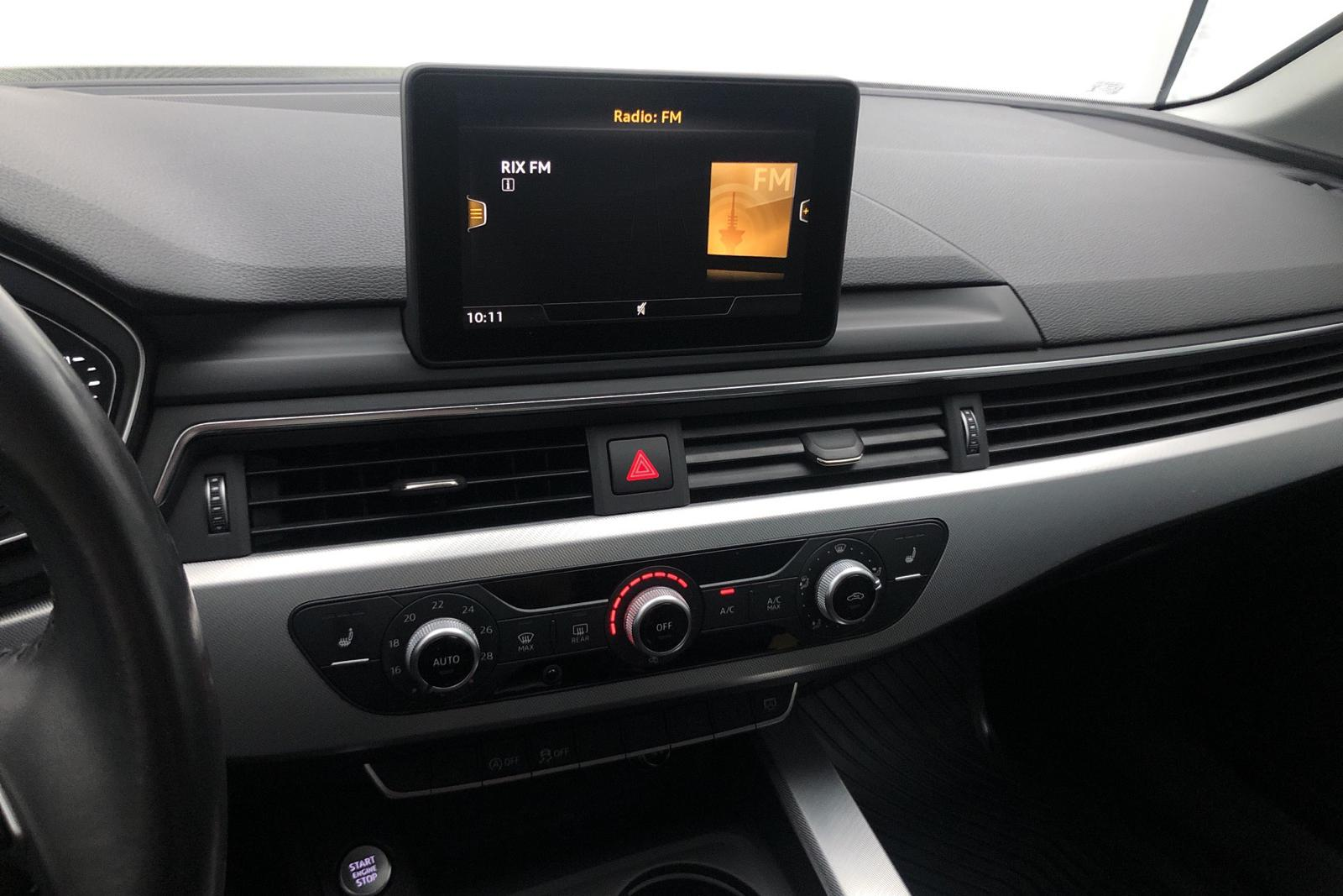 Audi A4 1.4 TFSI (150hk) - 7 000 mil - Manuell - svart - 2016