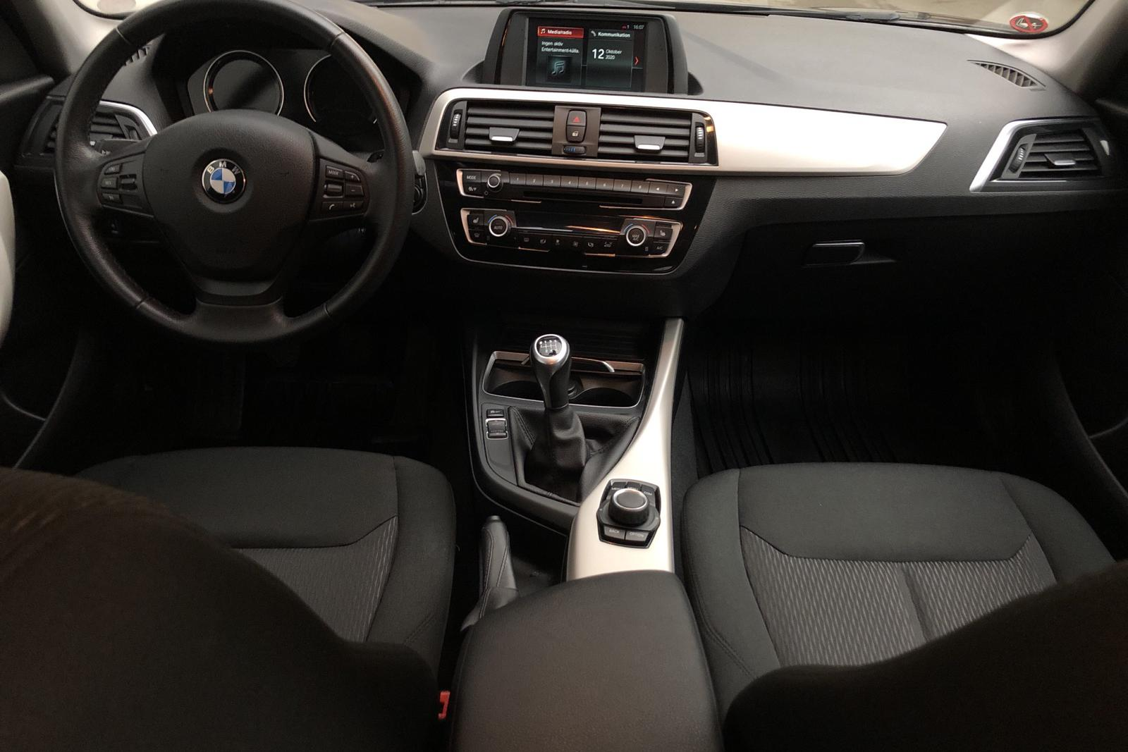 BMW 118i 5dr, F20 (136hk) - 0 km - Manual - black - 2018