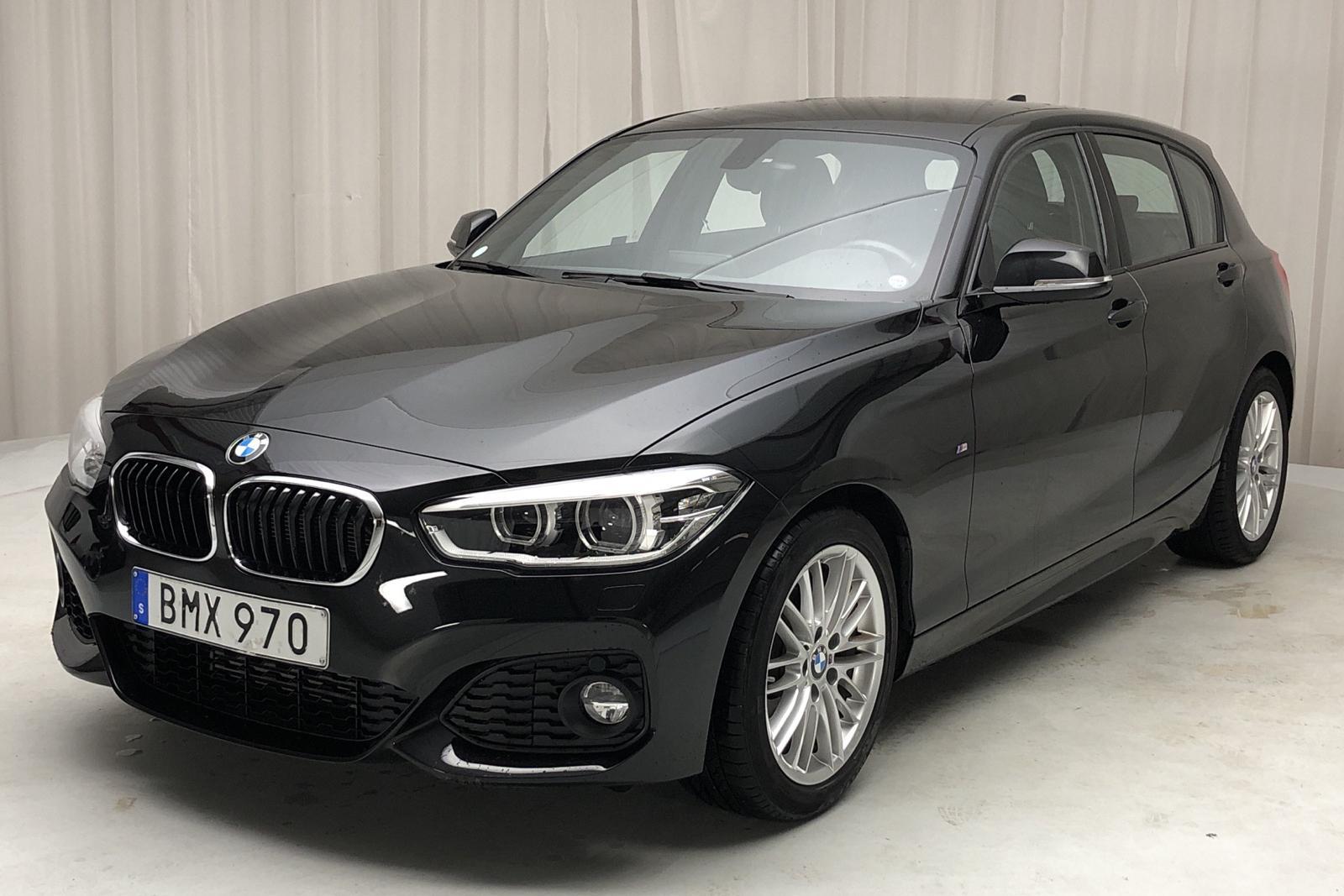 BMW 118i 5dr, F20 (136hk) - 0 mil - Automat - svart - 2018