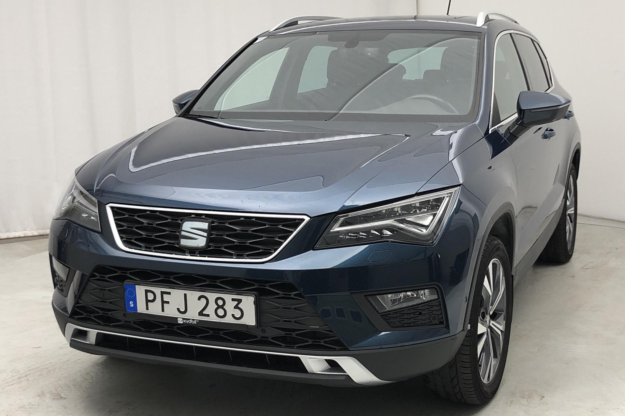 Seat Ateca 1.4 TSI ACT 4Drive (150hk)Nav. - 73 000 km - Manual - blue - 2017