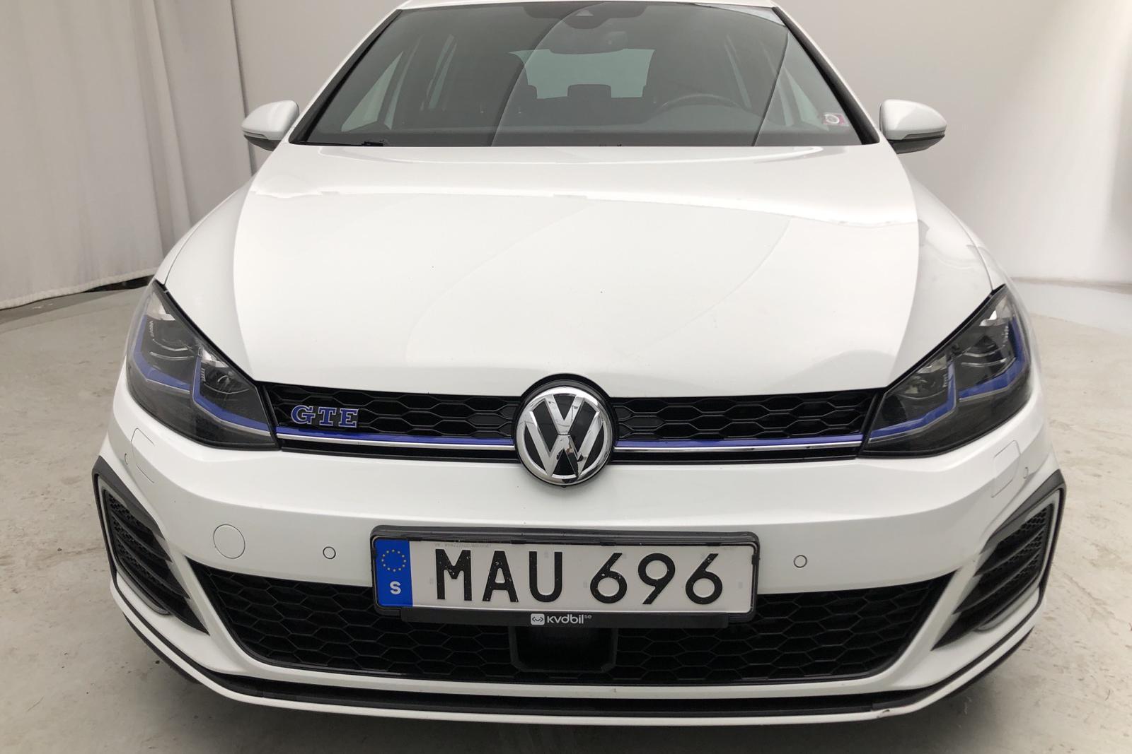 VW Golf VII GTE 5dr (204hk) - 7 500 mil - Automat - vit - 2018