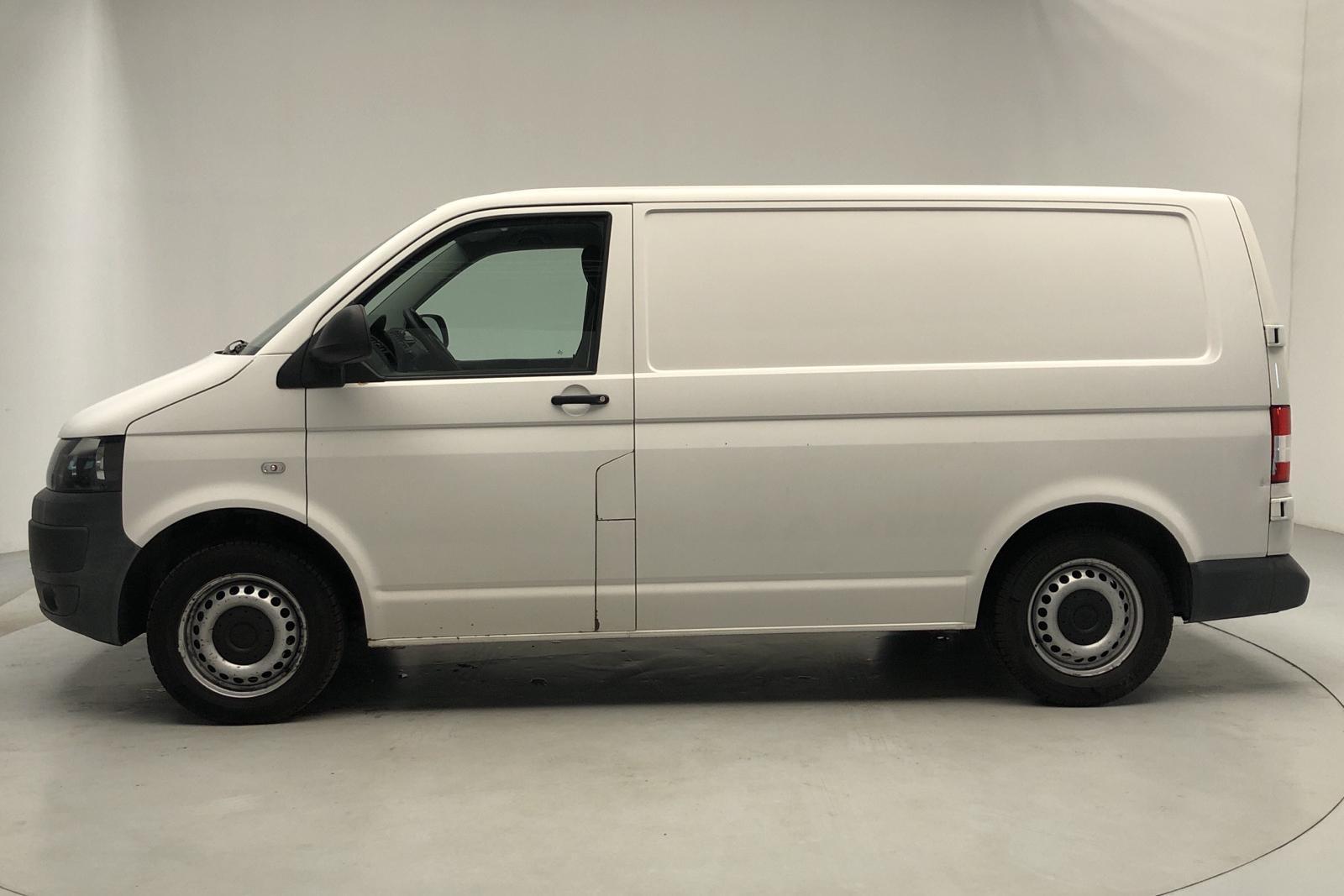 VW Transporter T5 2.0 TDI Kylbil (102hk) - 15 209 mil - Manuell - vit - 2012