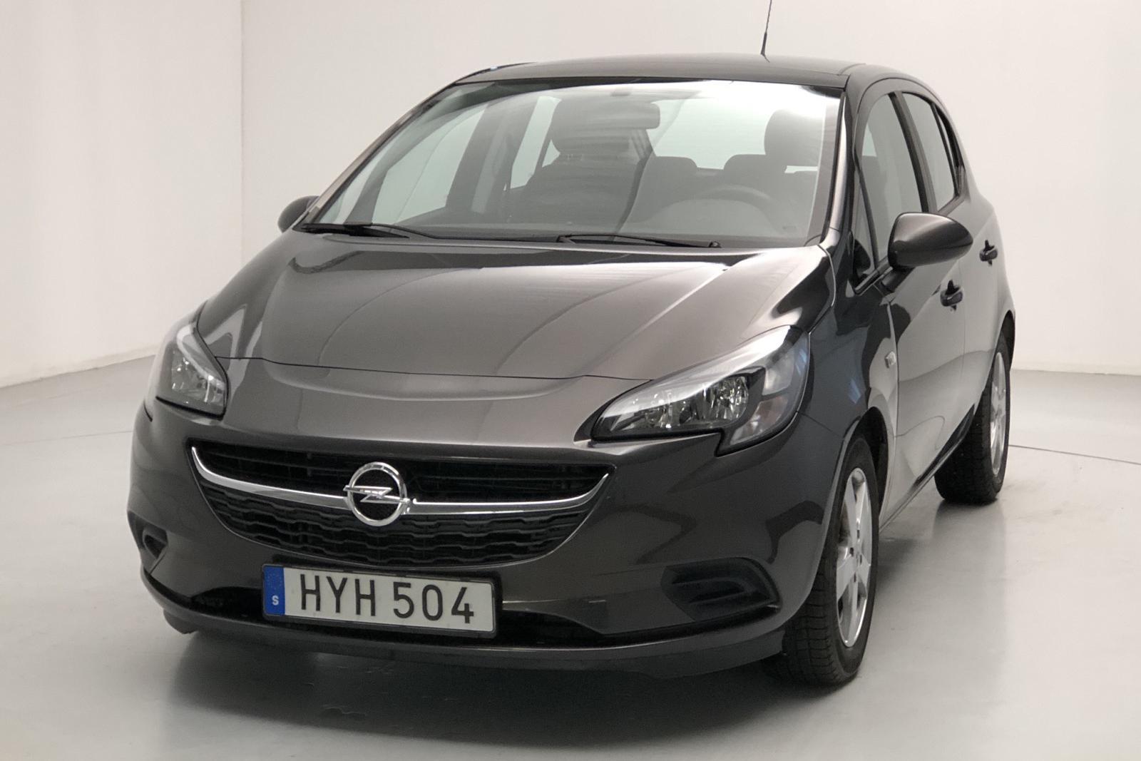 Opel Corsa 1.4 ECOTEC 5dr (90hk) - 41 000 km - gray - 2015