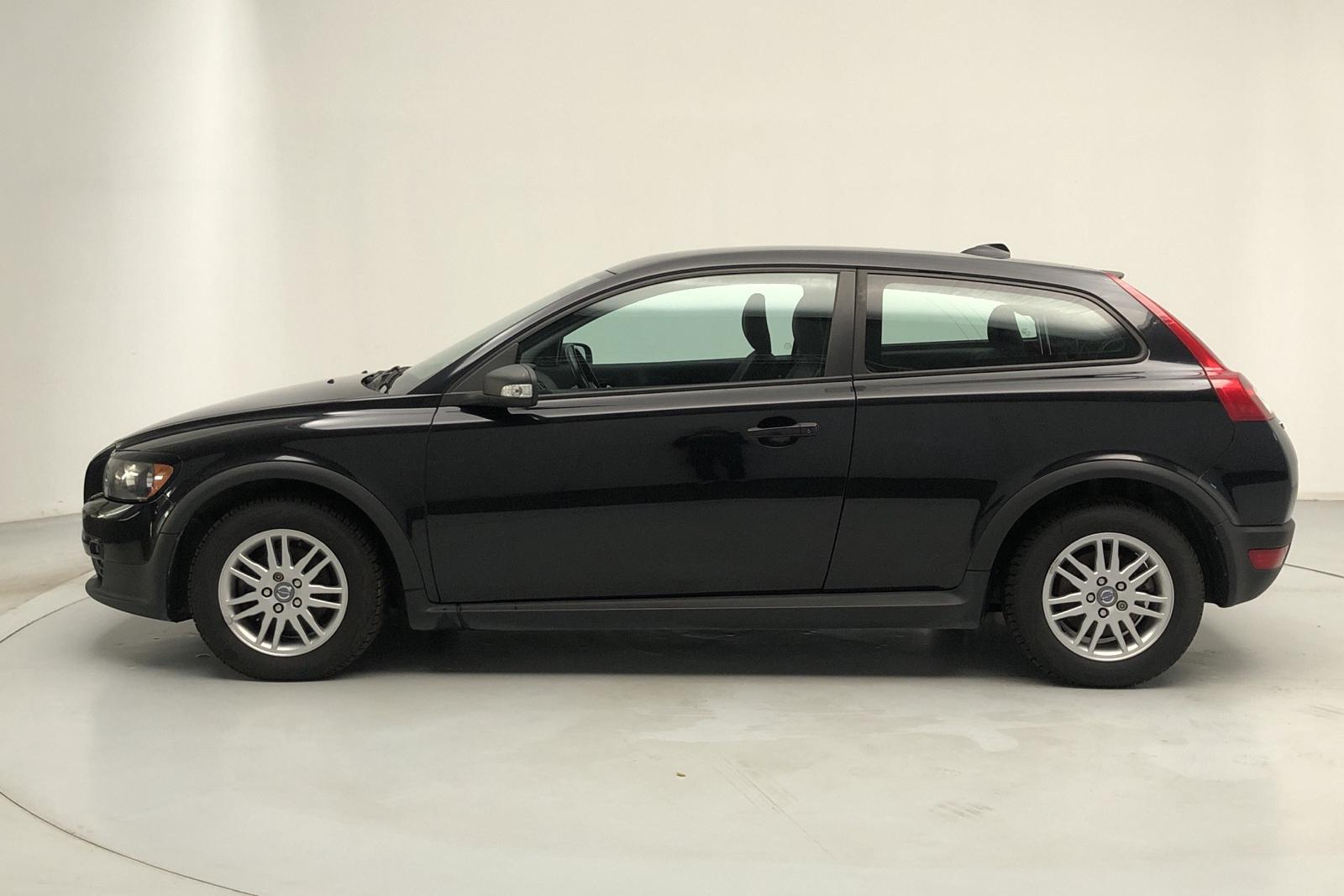 Volvo C30 1.8 Flexifuel (125hk) - 96 000 km - Manual - black - 2008