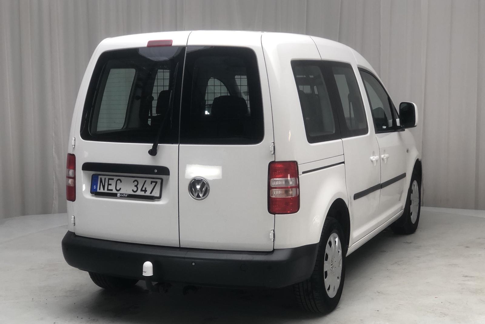 VW Caddy MPV 2.0 EcoFuel Life (109hk) - 0 km - Manual - white - 2013