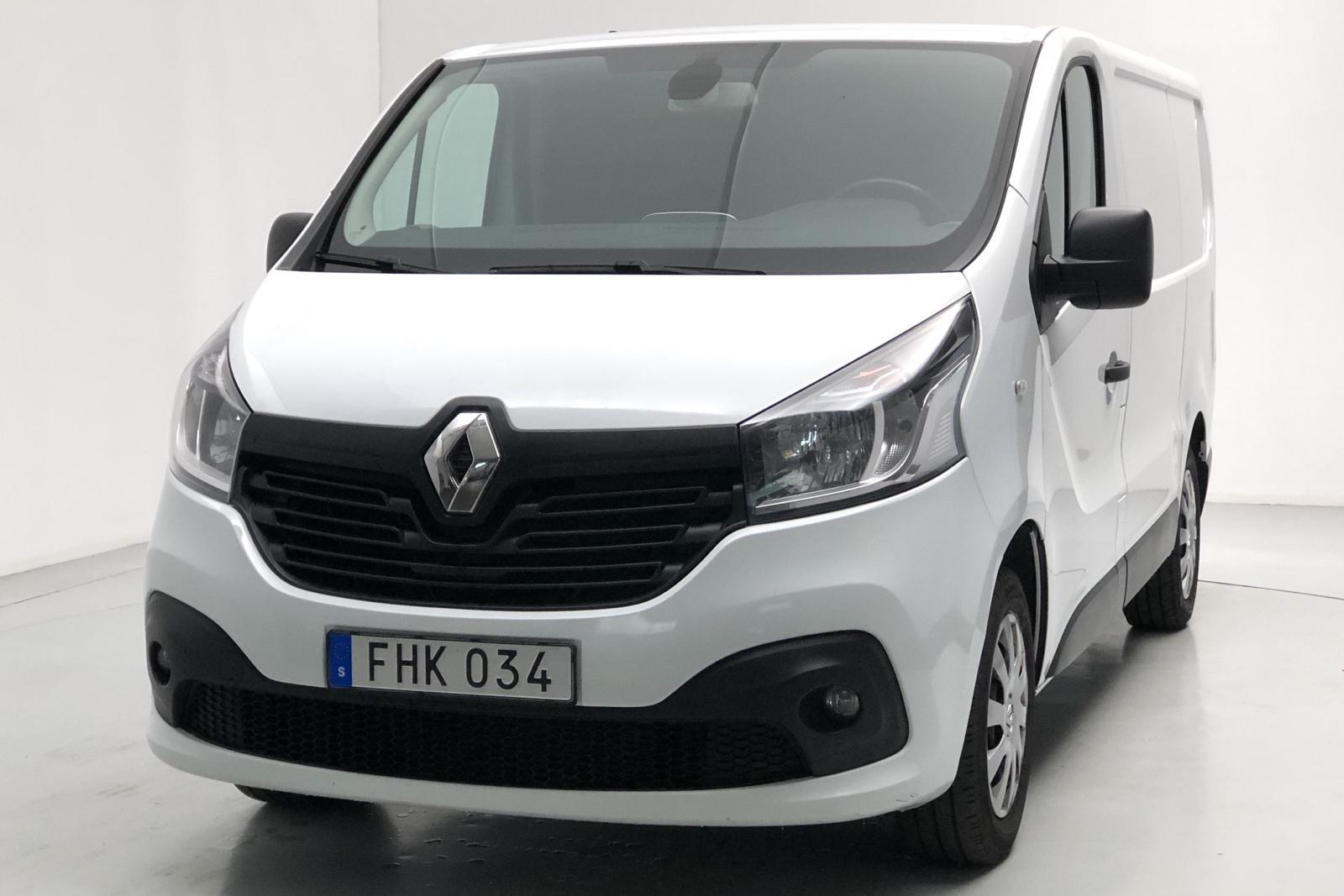 Renault Trafic 1.6 dCi Skåp (115hk) - 0 mil - Manuell - vit - 2016