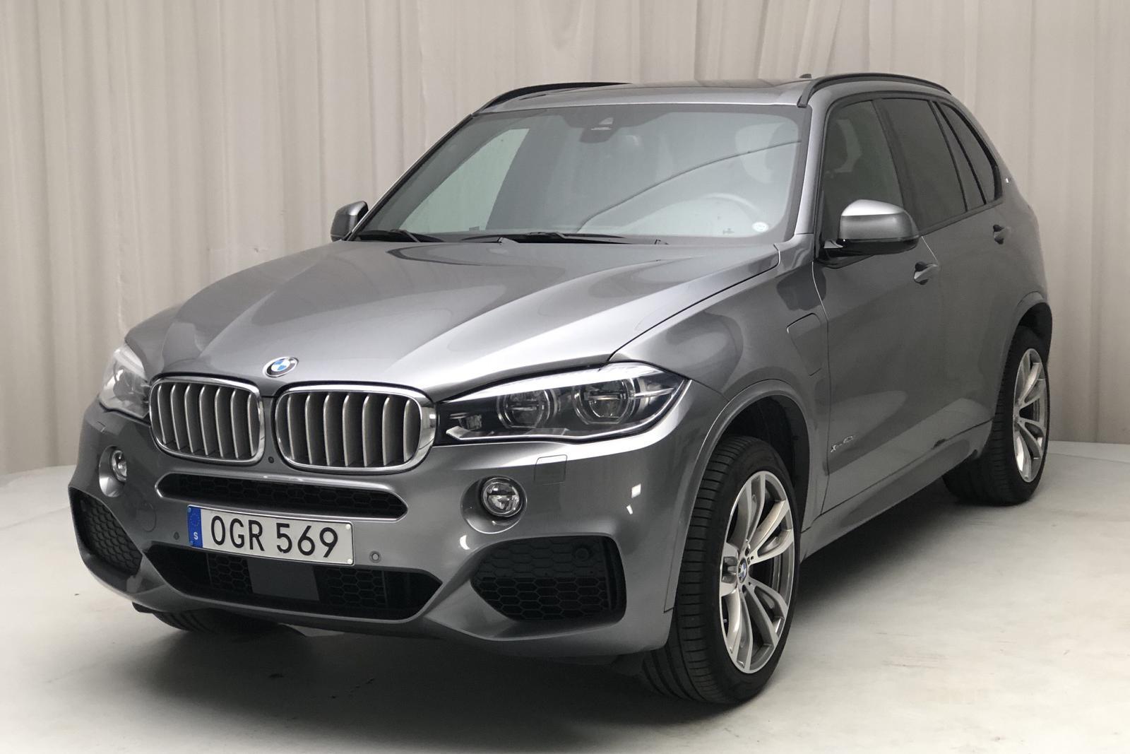 BMW X5 xDrive40e, F15 (245hk) - 5 100 mil - Automat - grå - 2018