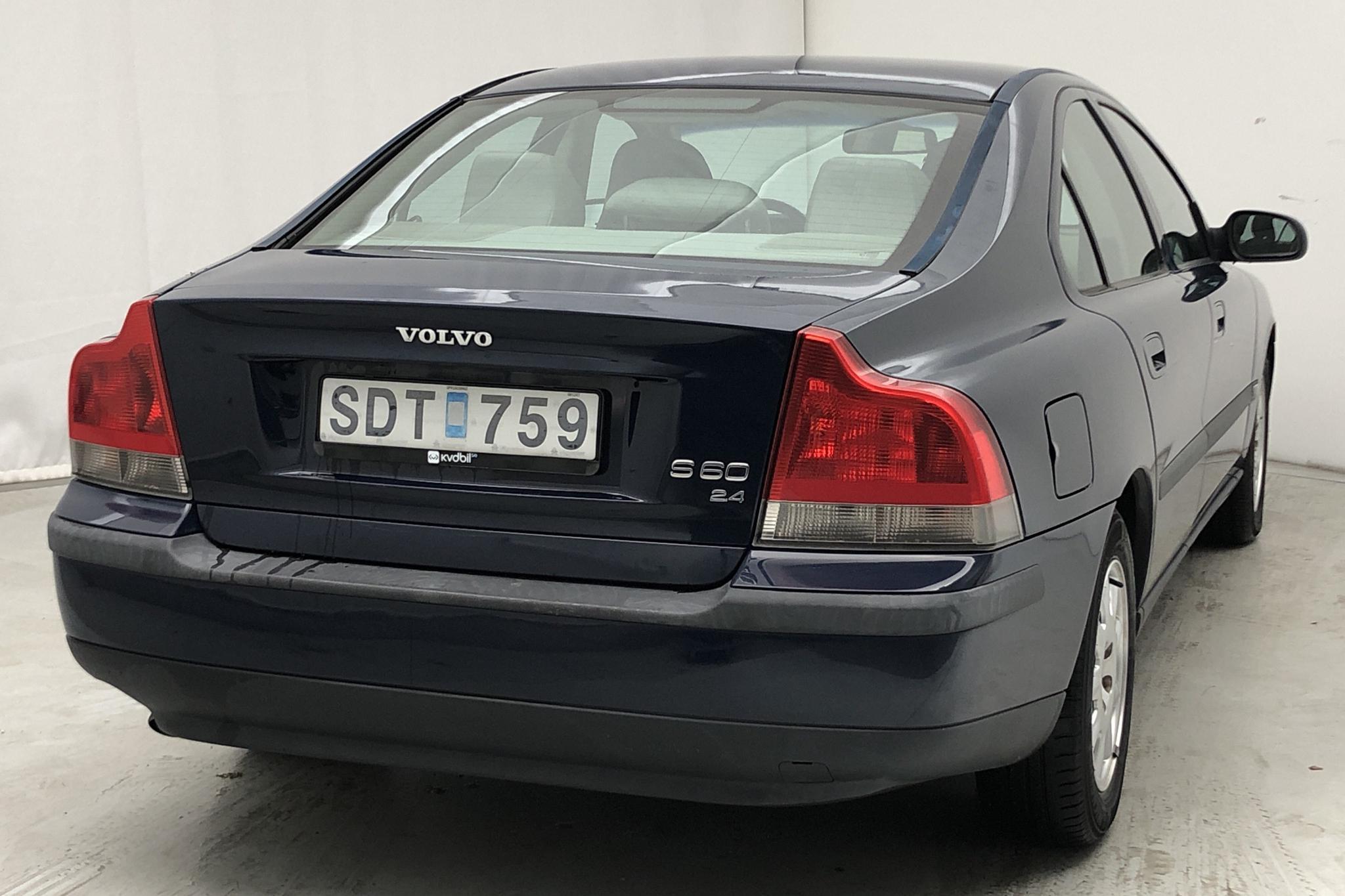 Volvo S60 2.4 (170hk) - 224 000 km - Automatic - Dark Blue - 2001