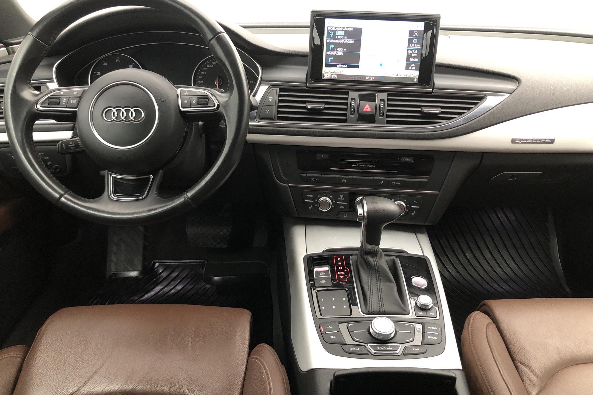 Audi A7 3.0 TFSI Sportback quattro (310hk) - 97 000 km - Automatic - black - 2014