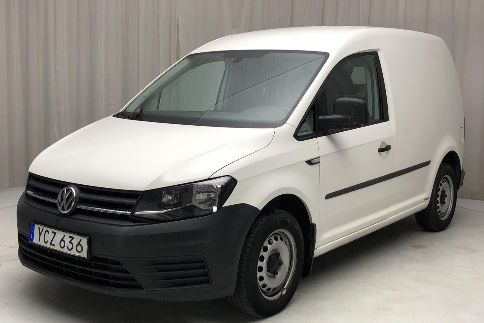 VW Caddy 2.0 TDI Skåp (75hk) - 0 km - Manual - white - 2016