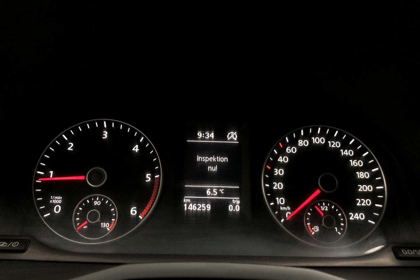 VW Caddy 2.0 TDI Skåp (75hk) - 0 mil - Manuell - vit - 2016