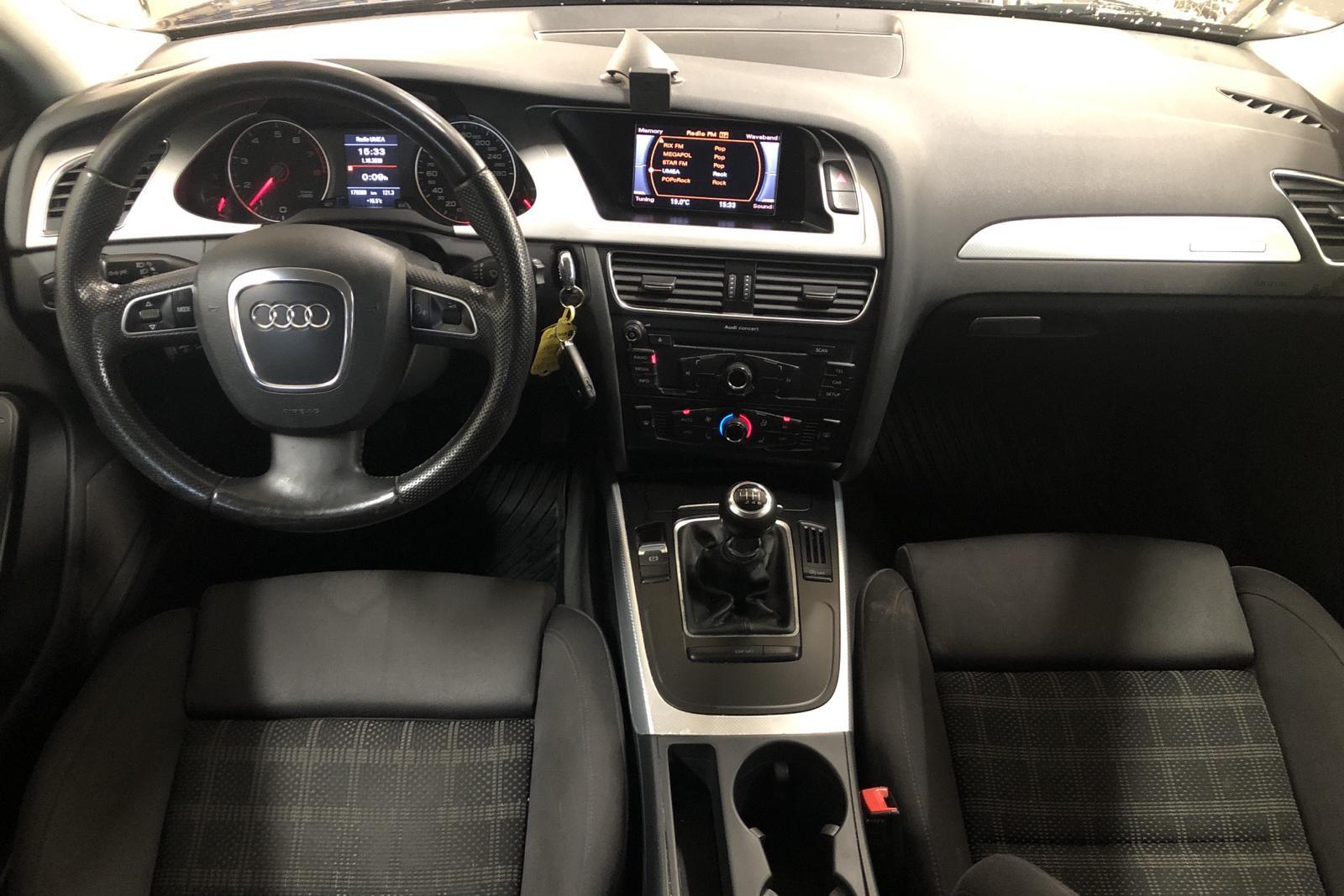 Audi A4 2.0 TFSI Avant quattro (211hk) - 17 945 mil - Manuell - svart - 2010
