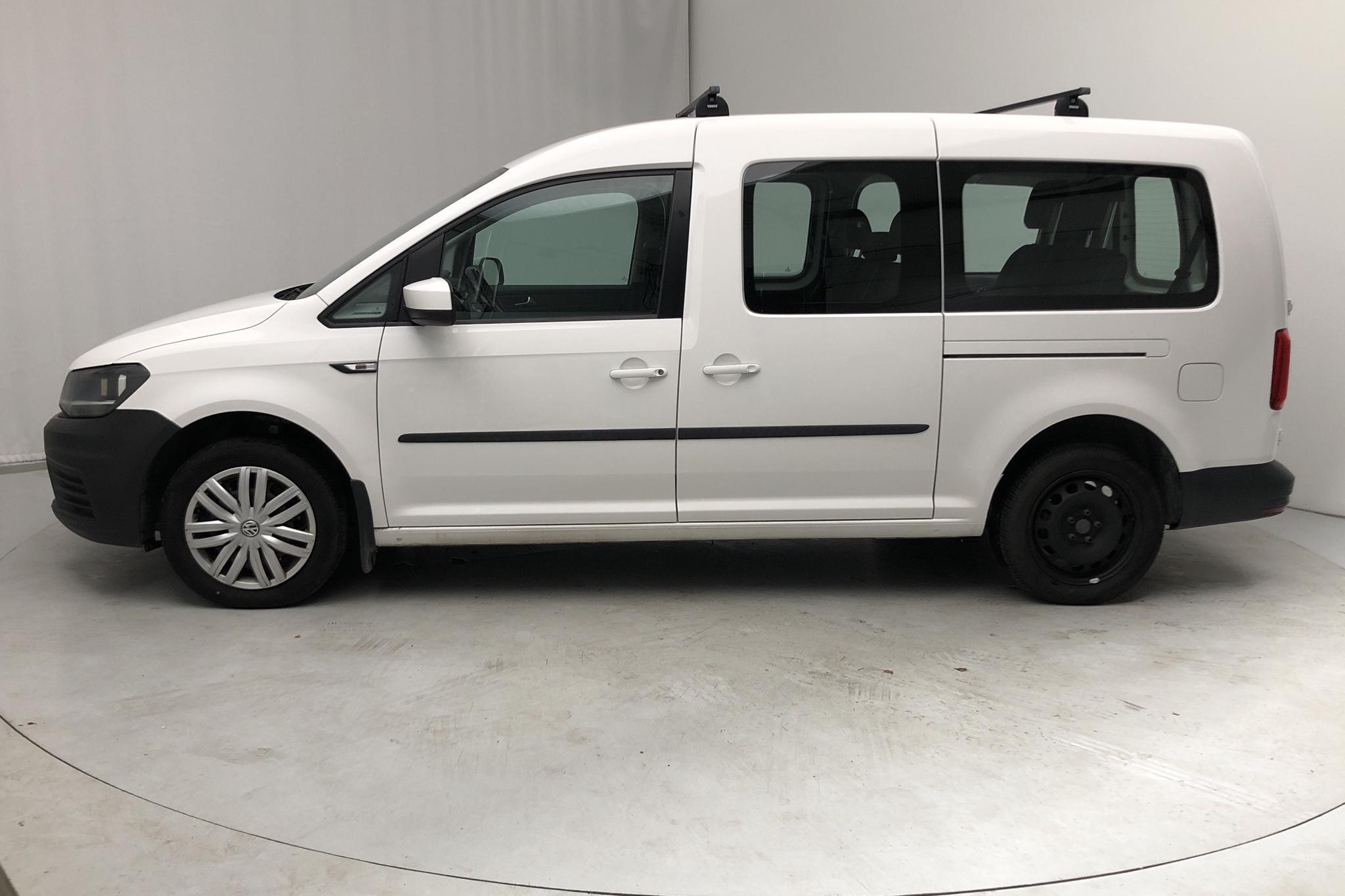 VW Caddy MPV Maxi 2.0 TDI (102hk) - 0 mil - Manuell - vit - 2016
