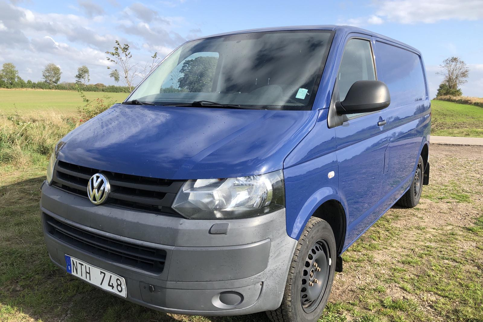 VW Transporter T5 2.0 TDI 4MOTION (140hk) - 0 mil - Manuell - Dark Blue - 2011