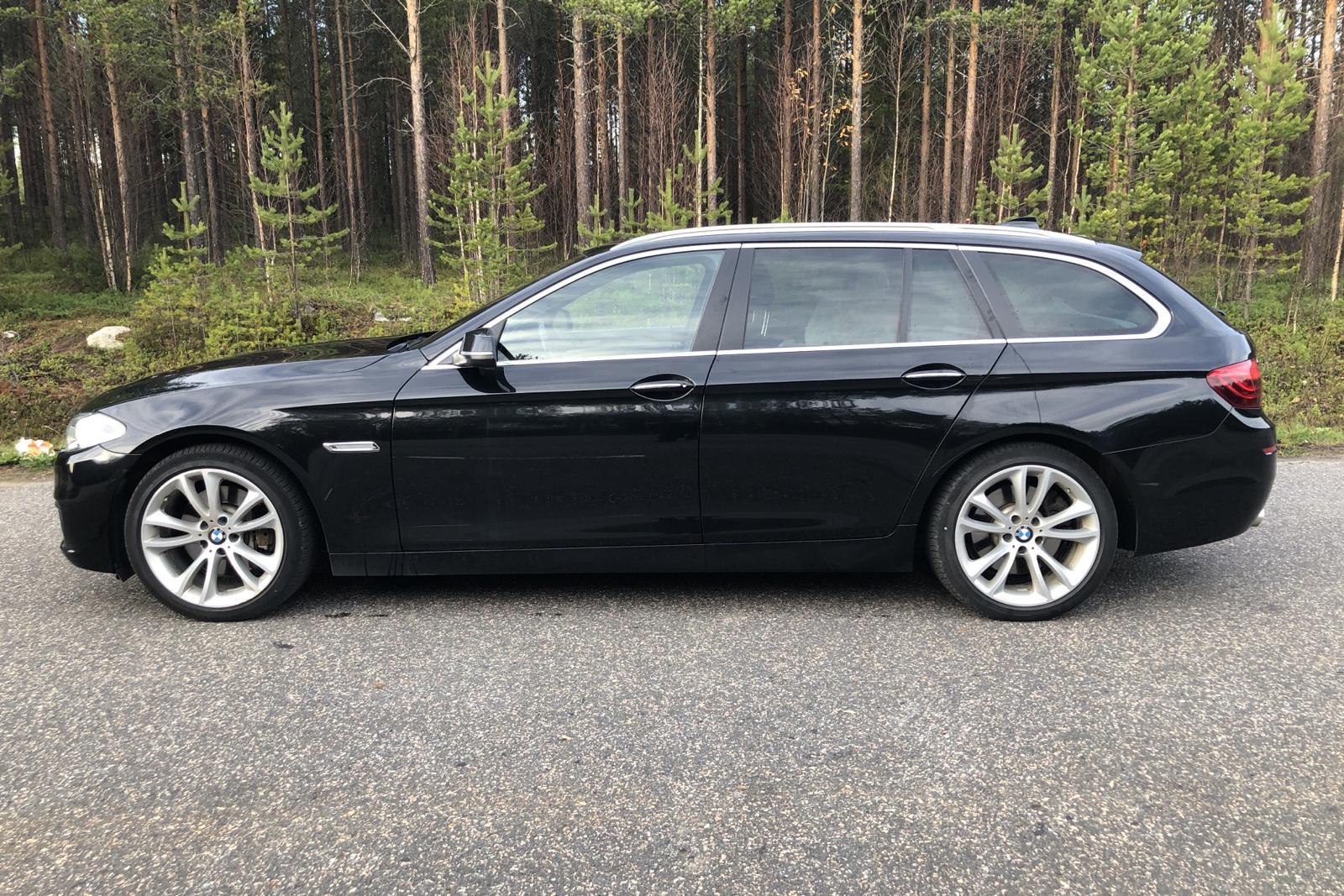 BMW 530d xDrive Touring, F11 (258hk) - 83 000 km - Automatic - black - 2014