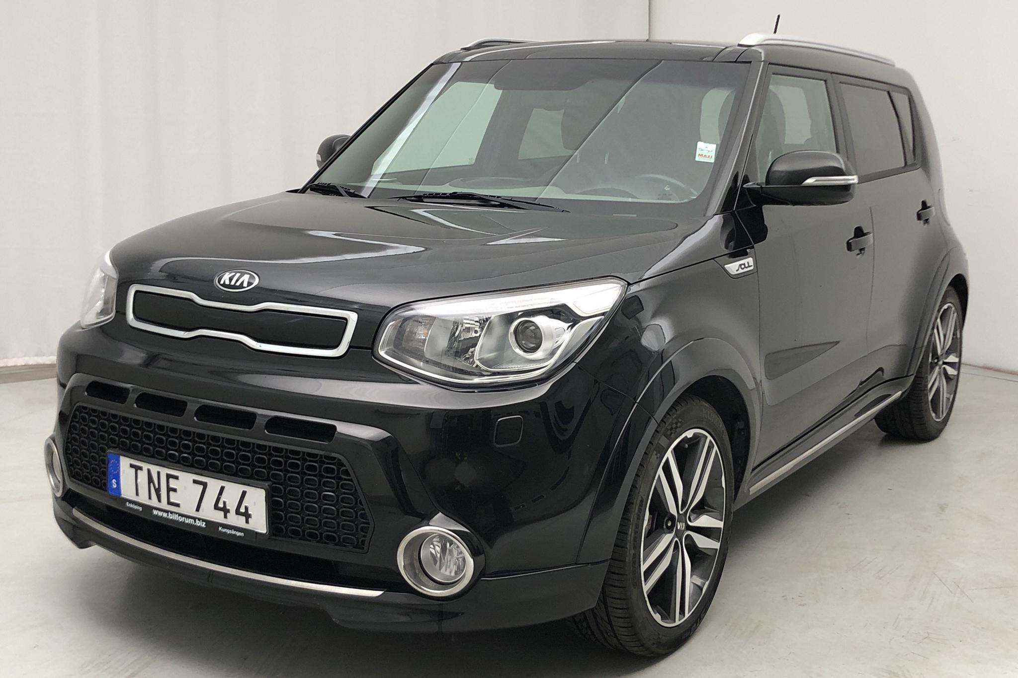 KIA Soul 1.6 (132hk) - 77 206 km - Automatic - black - 2015