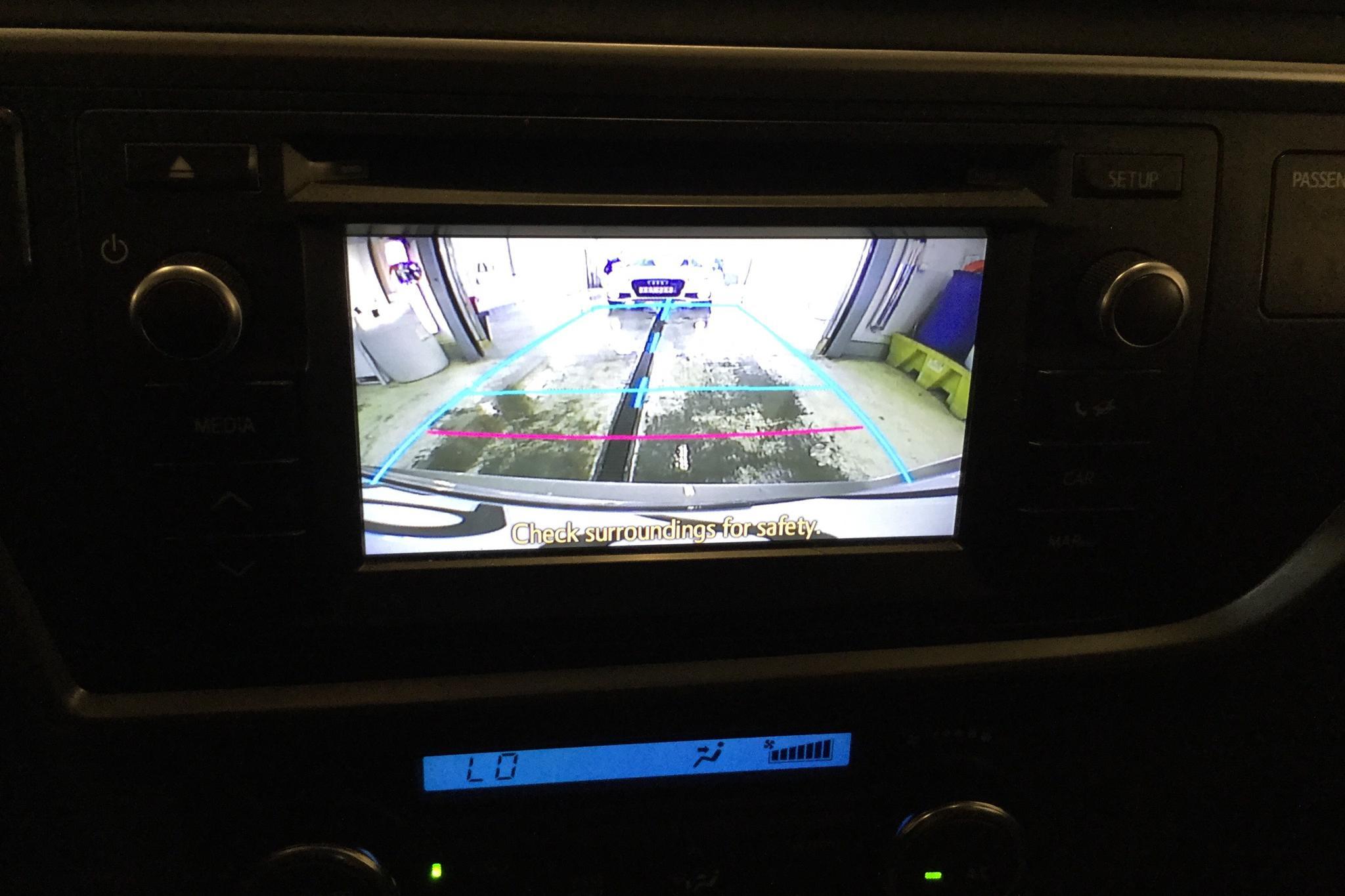 Toyota Auris 1.8 HSD Touring Sports (99hk) - 9 600 mil - Automat - brun - 2015