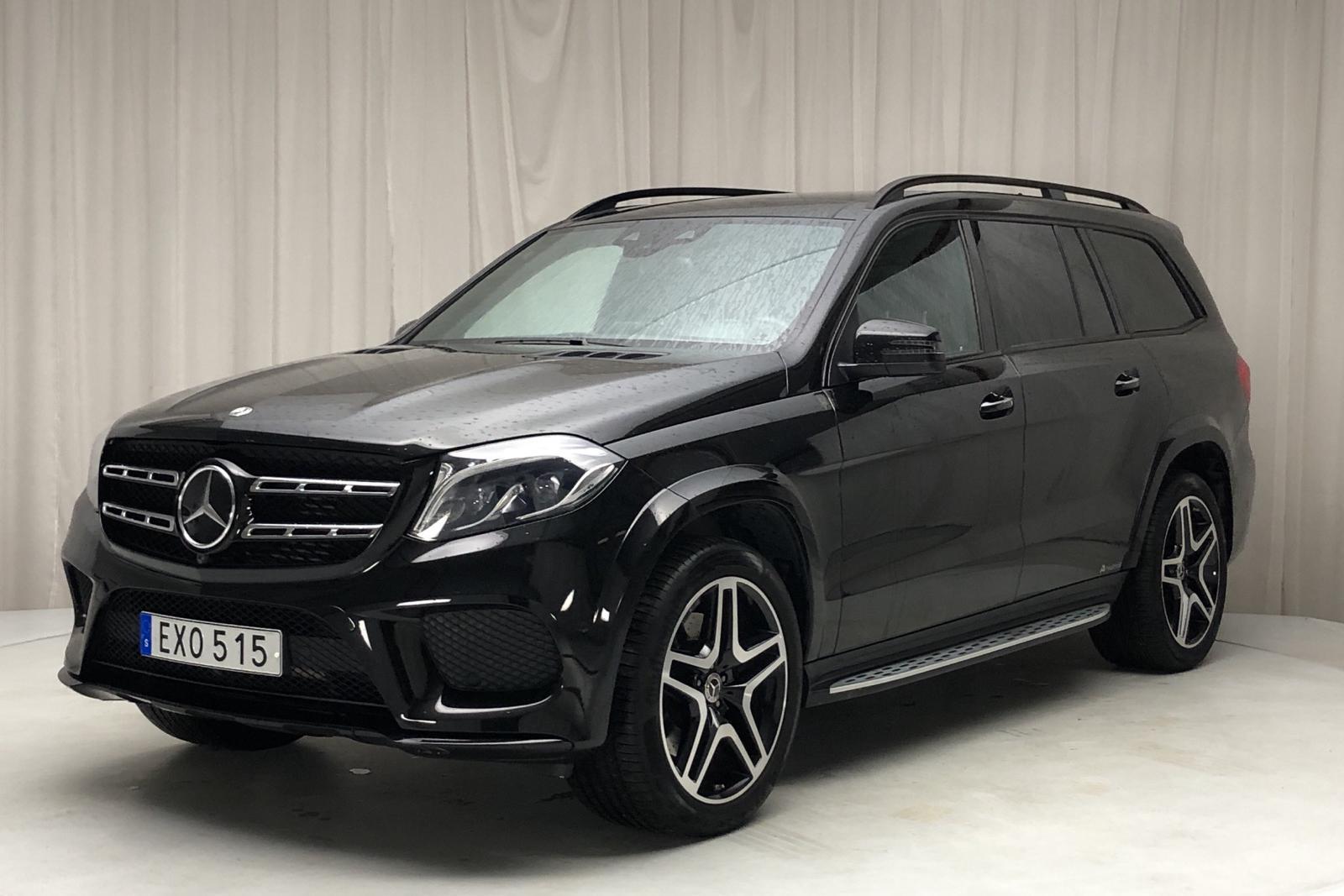 Mercedes GLS 350 d 4MATIC X166 (258hk) - 0 km - black - 2018