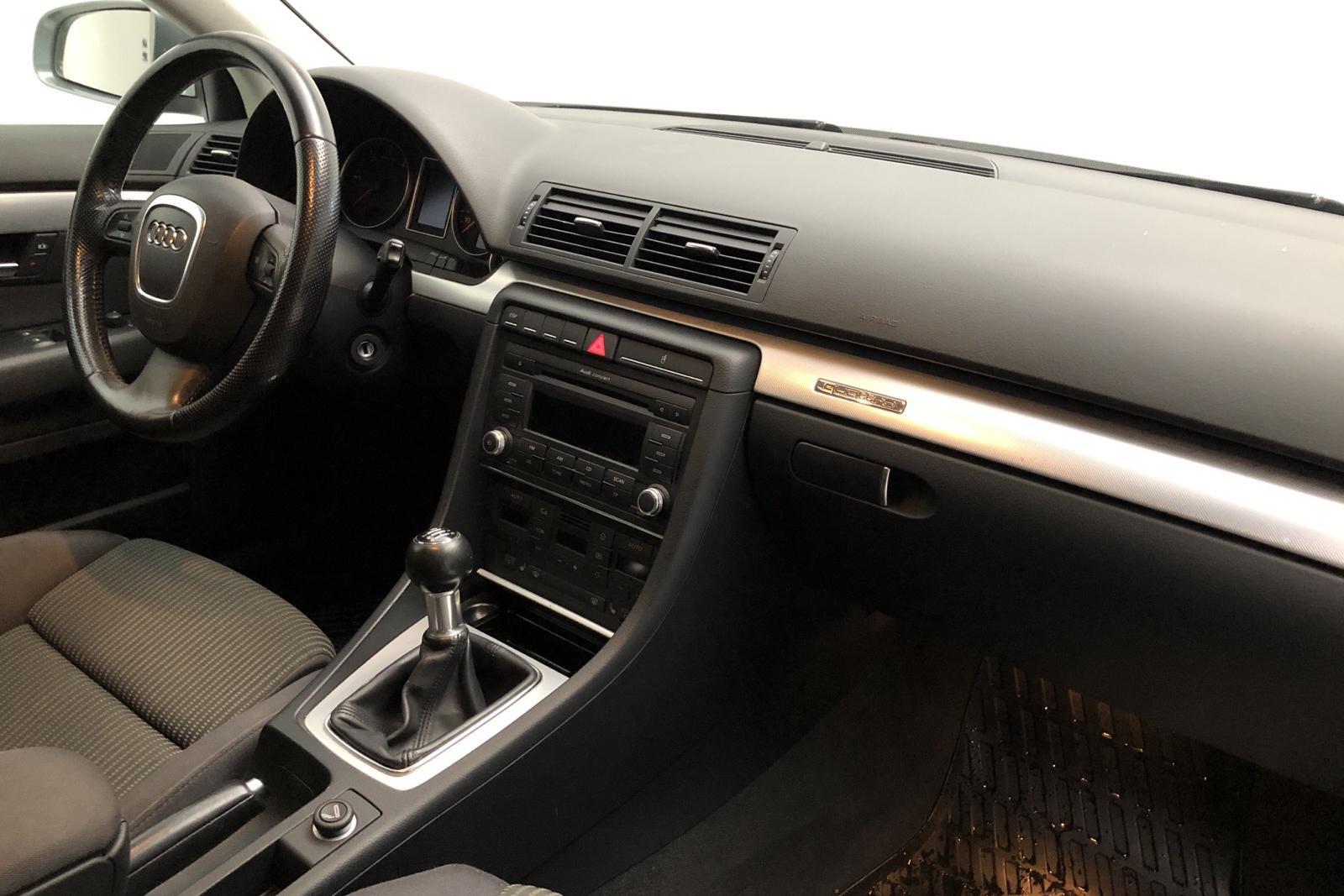 Audi A4 2.0 TDI Avant quattro (140hk) - 25 600 mil - Manuell - Dark Grey - 2008