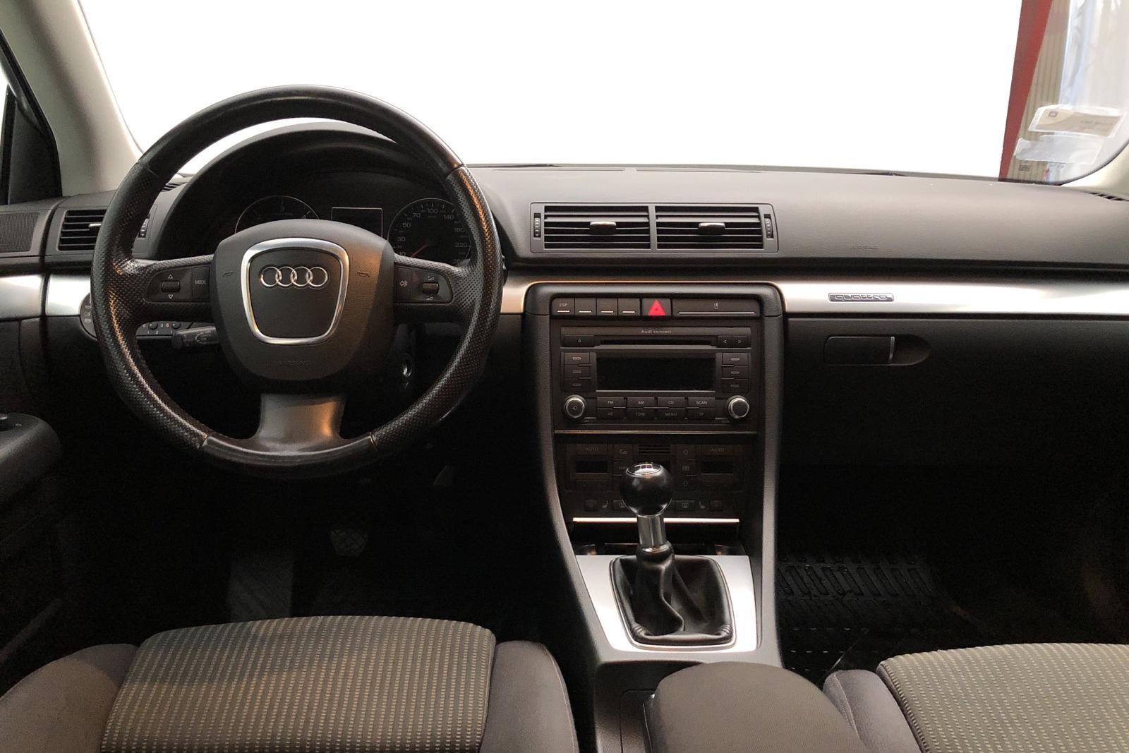Audi A4 2.0 TDI Avant quattro (140hk) - 256 000 km - Manual - Dark Grey - 2008