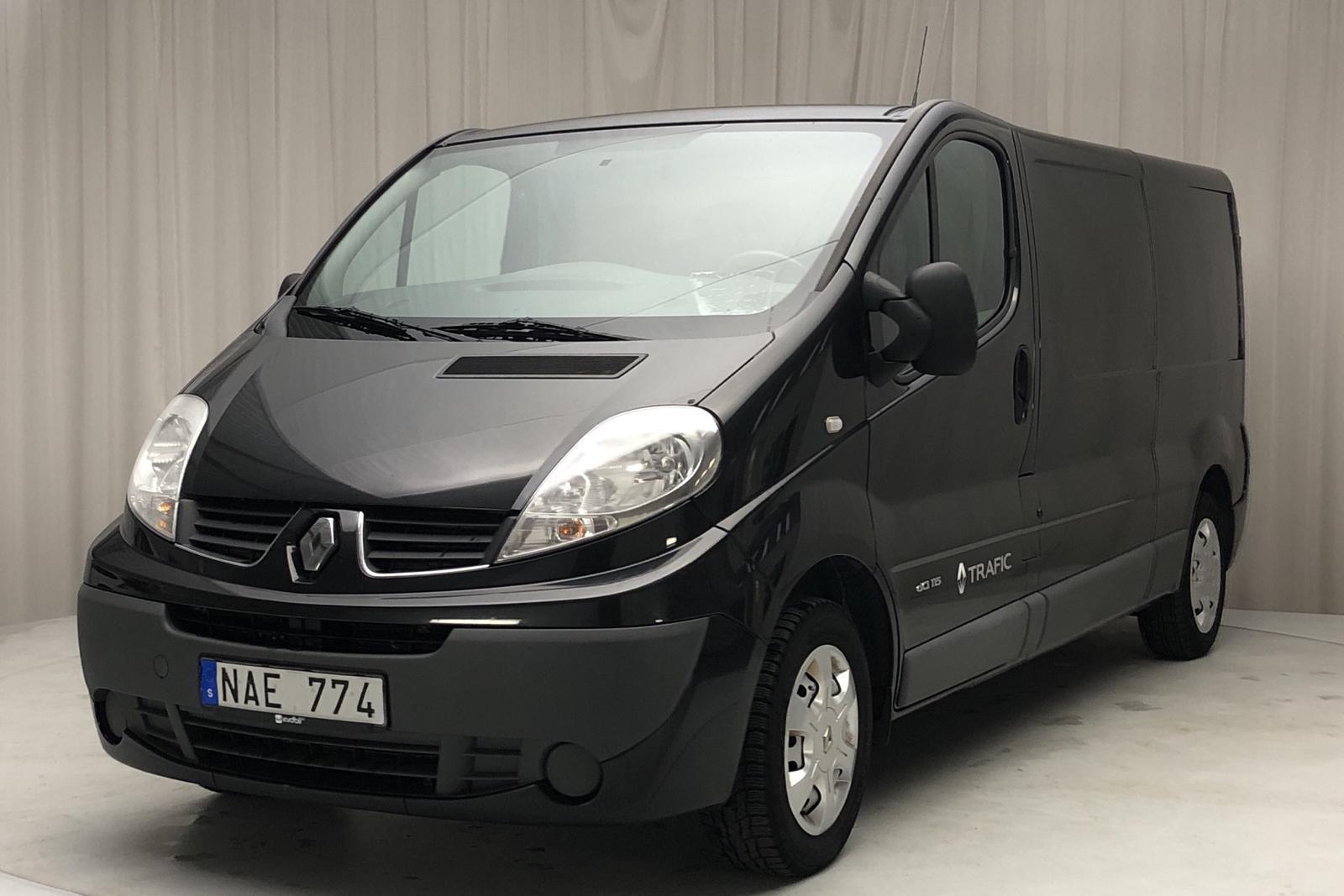 Renault Trafic 2.0 dCi Skåp/Buss (115hk) - 0 mil - Manuell - svart - 2013