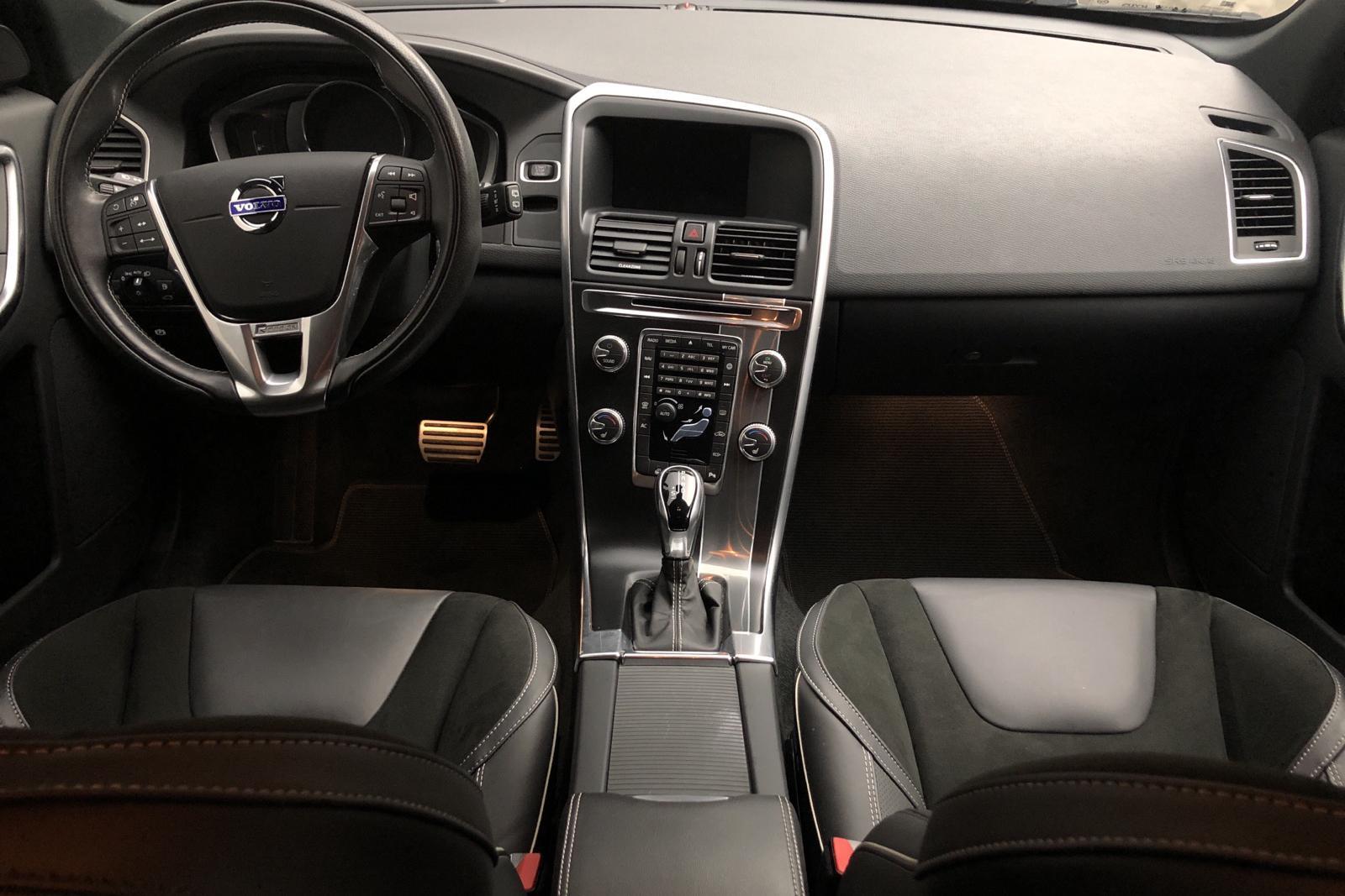 Volvo XC60 D4 2WD (190hk) - 7 231 mil - Automat - grå - 2017