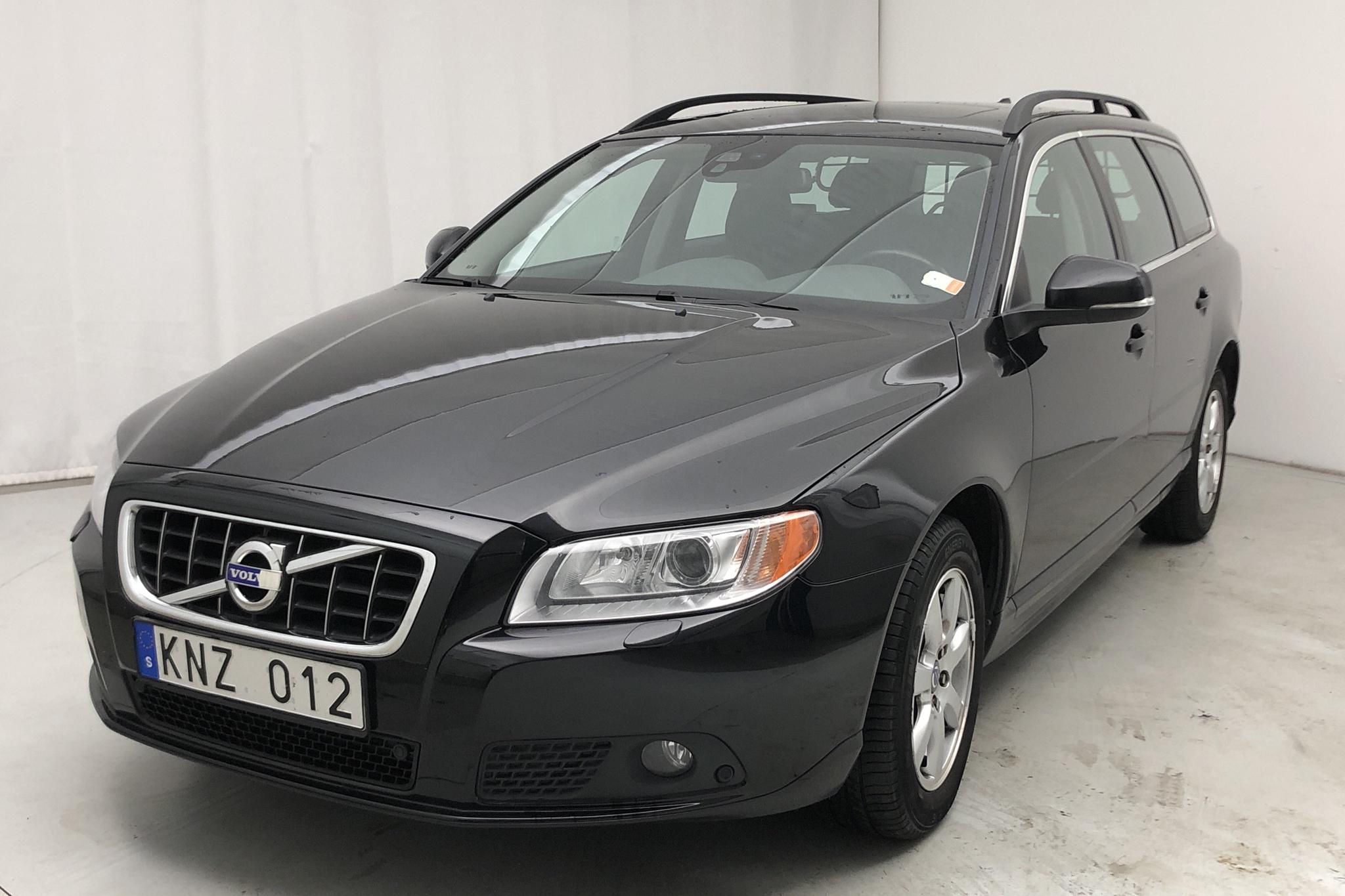 Volvo V70 II D3 (163hk) - 149 000 km - Manual - black - 2012