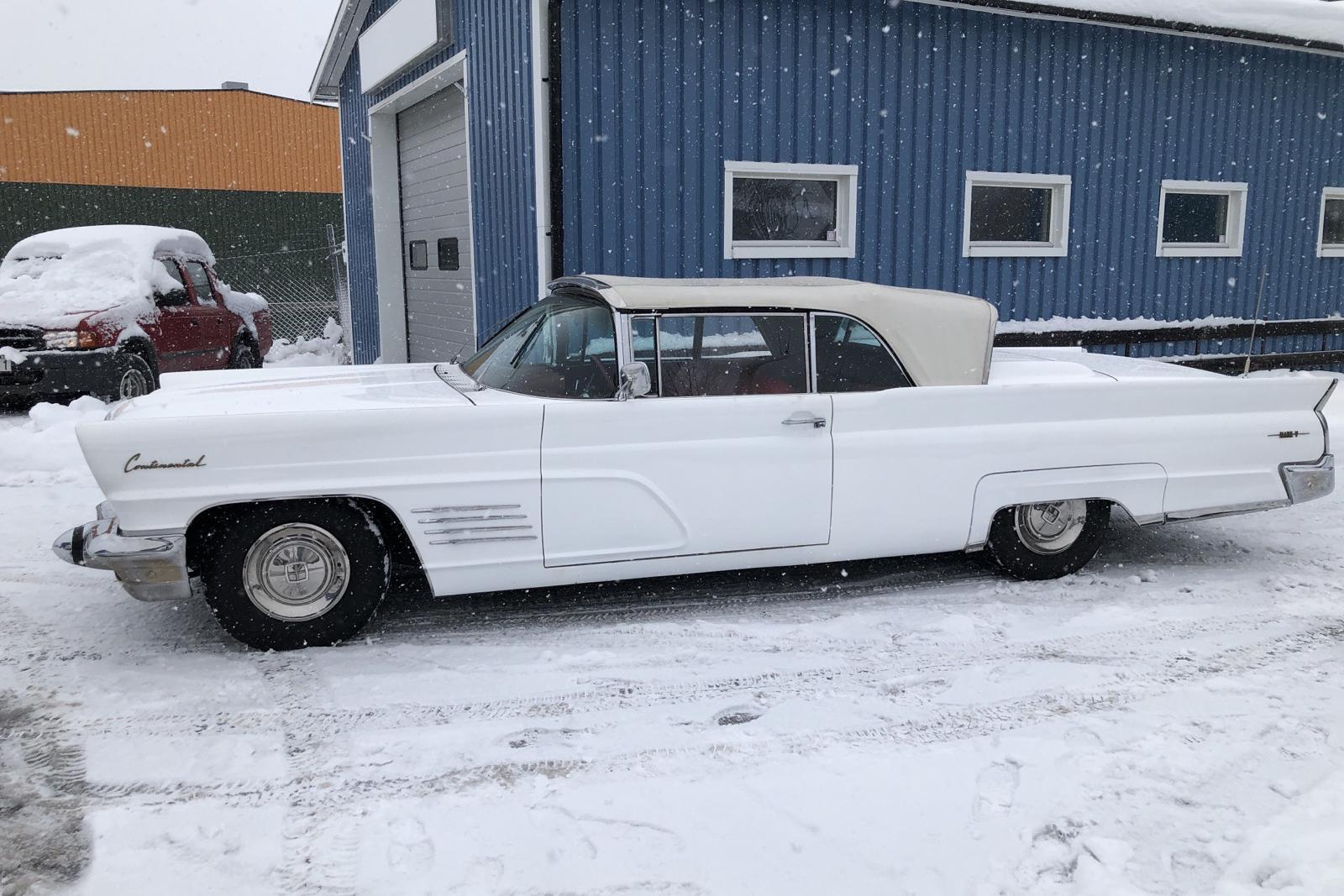 Lincoln Continental Cabriolet 7.0 V8 (319hk) - 84 780 km - Automatic - white - 1960