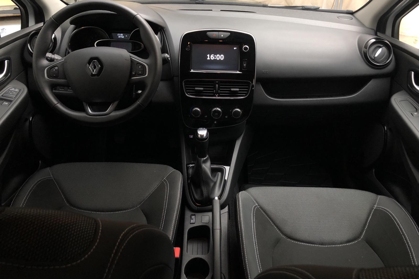 Renault Clio IV 0.9 TCe 90 5dr (90hk) - 22 000 km - white - 2018