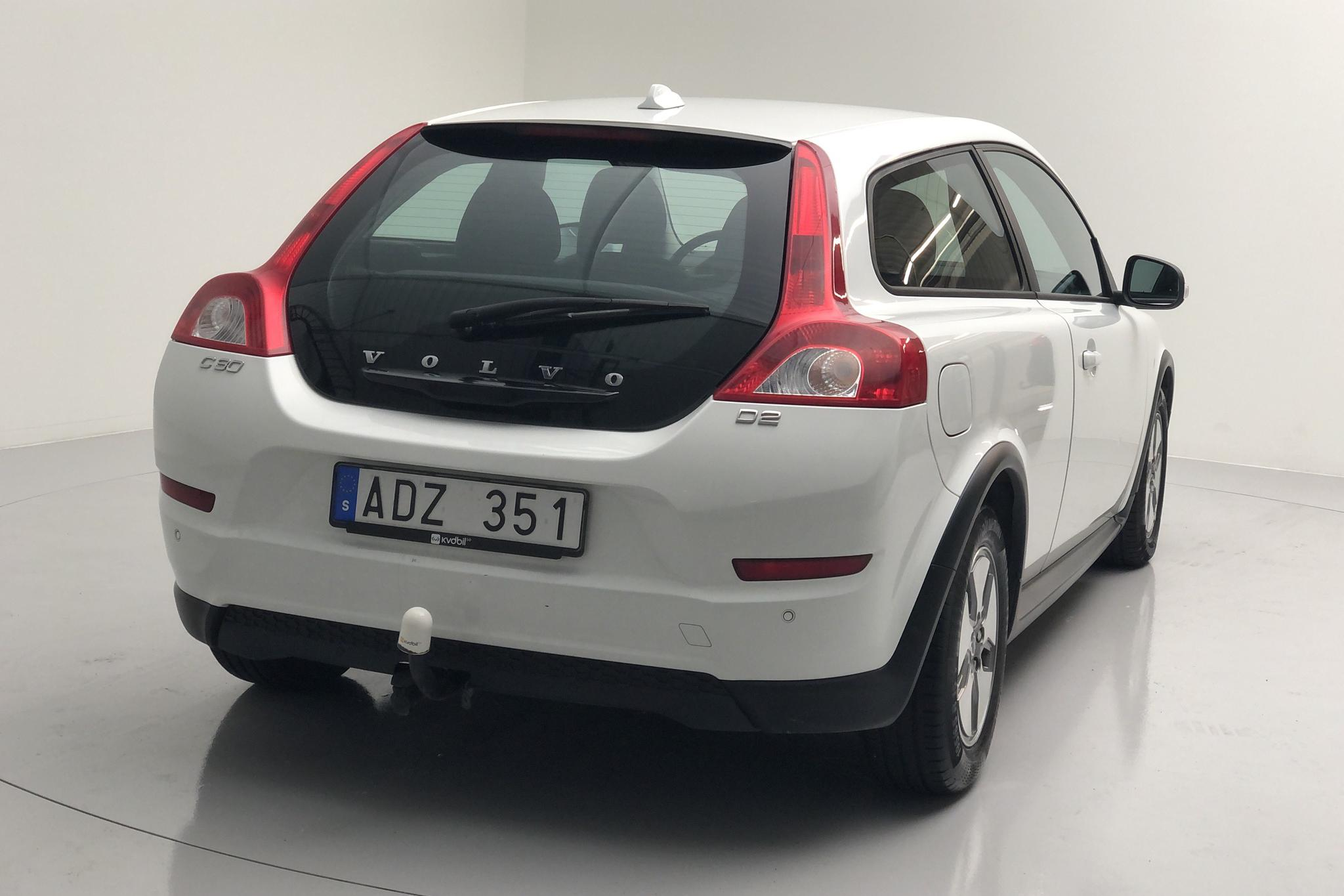 Volvo C30 D2 (115hk) - 107 700 km - Manual - white - 2011