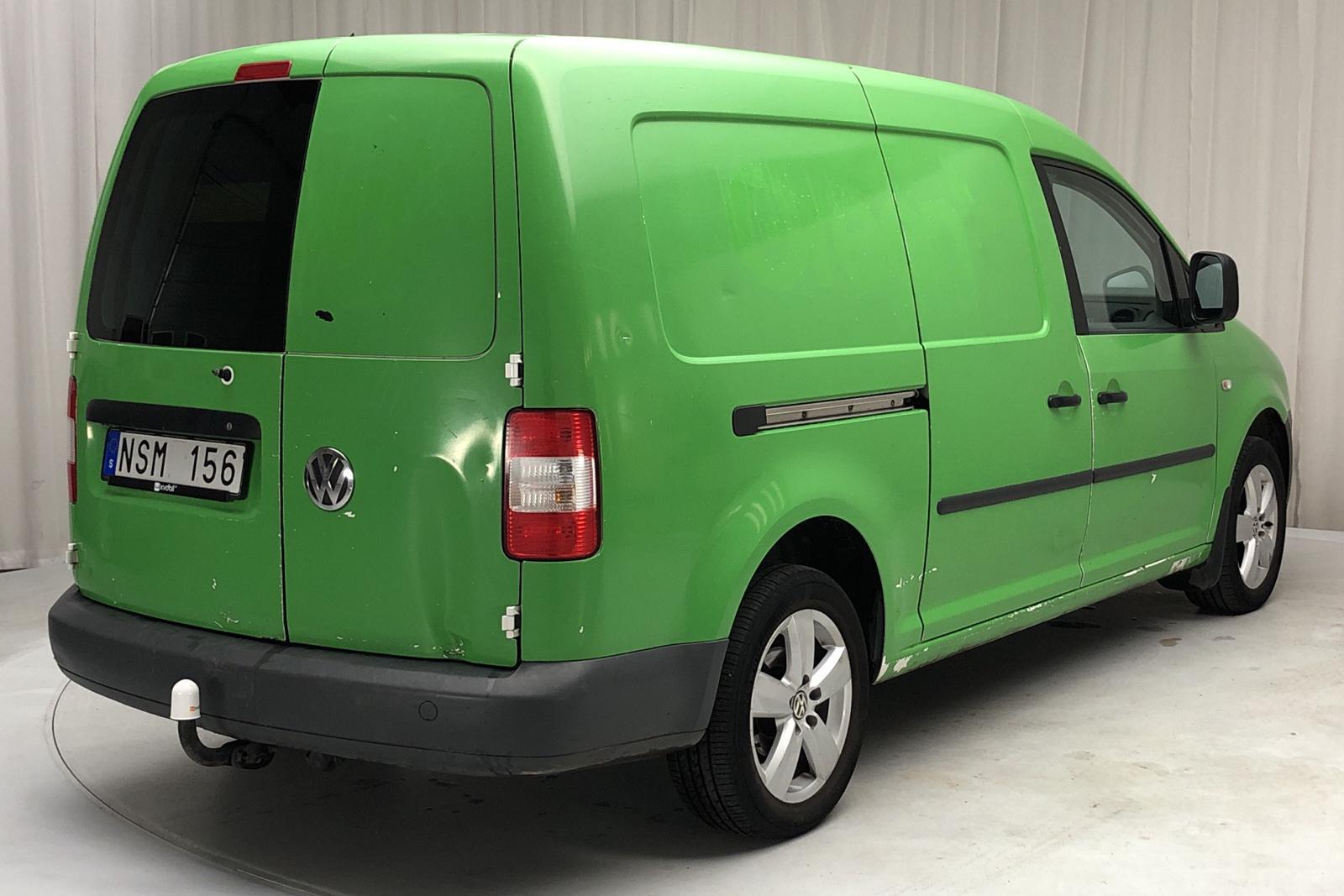 VW Caddy 2.0 Ecofuel Maxi Skåp (109hk) - 0 km - Manual - white - 2010