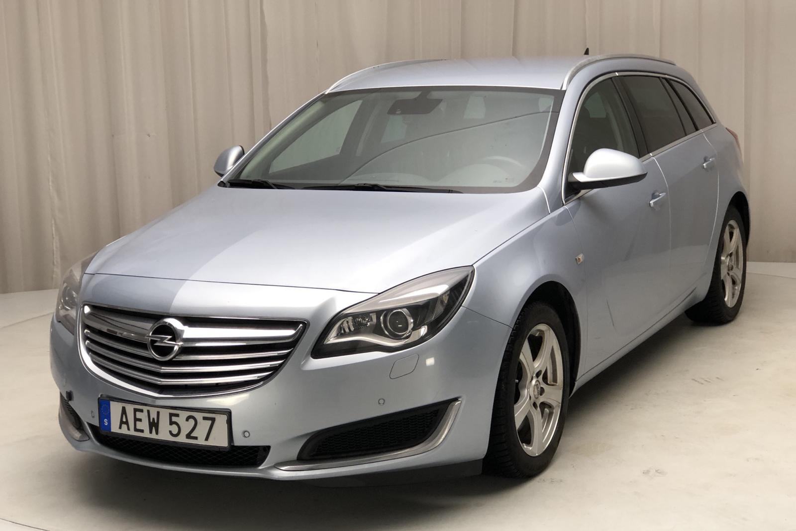 Opel Insignia 2.0 CDTI ecoFLEX Sports Tourer (140hk) - 270 000 km - gray - 2014