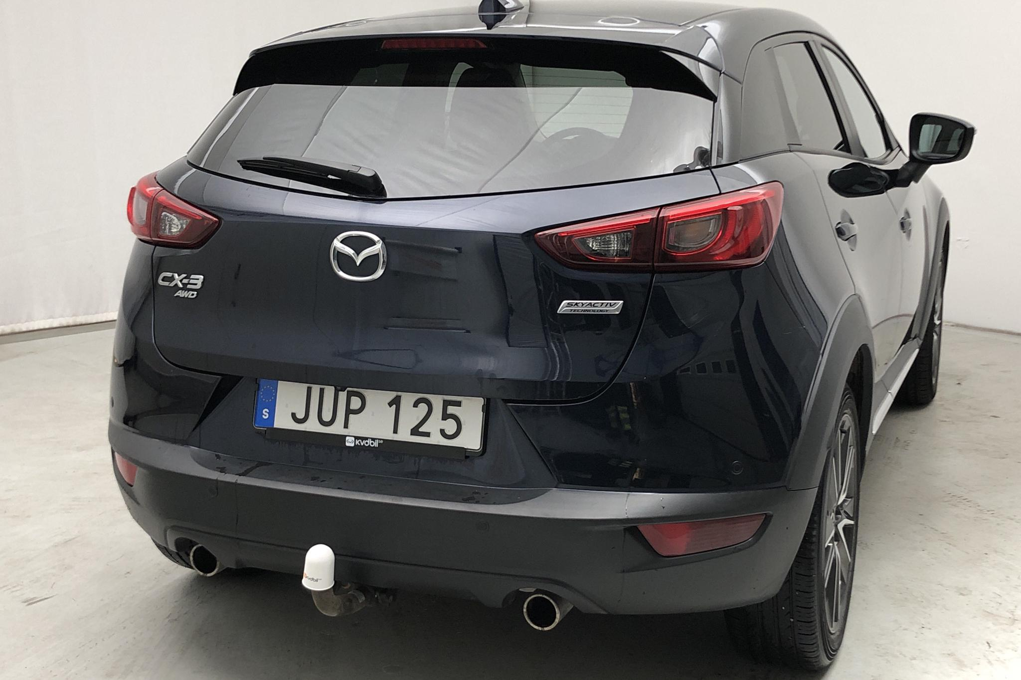 Mazda CX-3 2.0 AWD (150hk) - 123 000 km - Automatic - blue - 2016