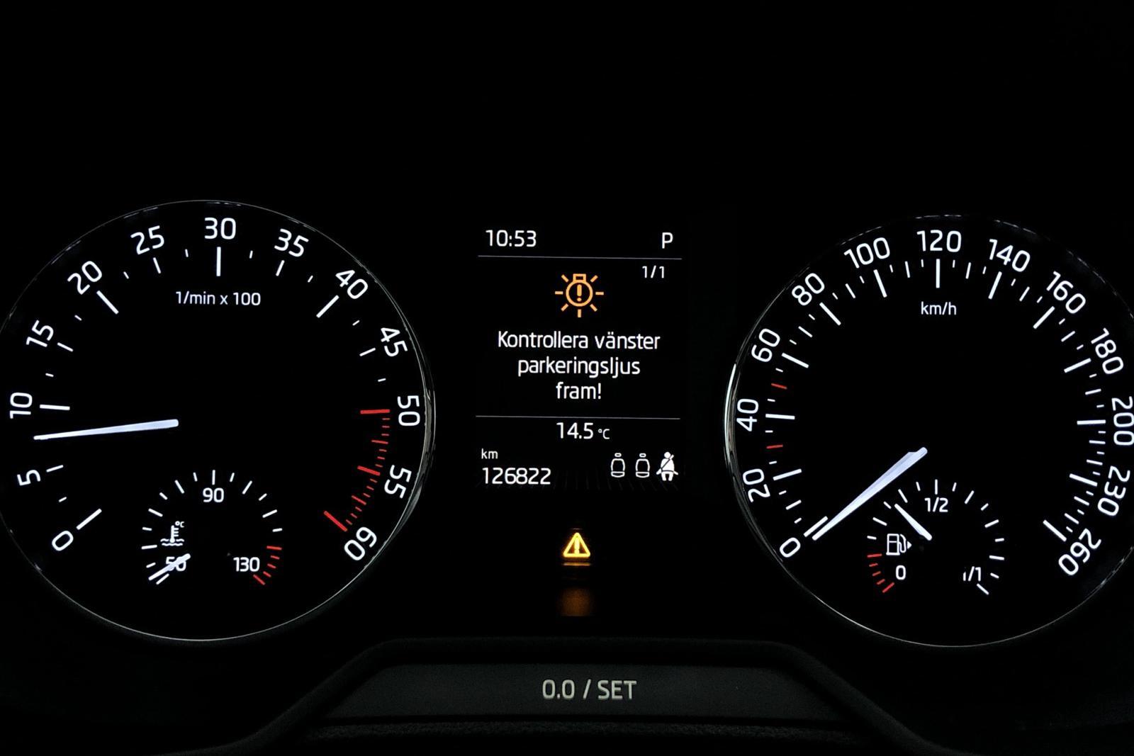Skoda Octavia III 1.6 TDI GreenLine CR Combi (110hk) - 9 893 mil - Automat - vit - 2017