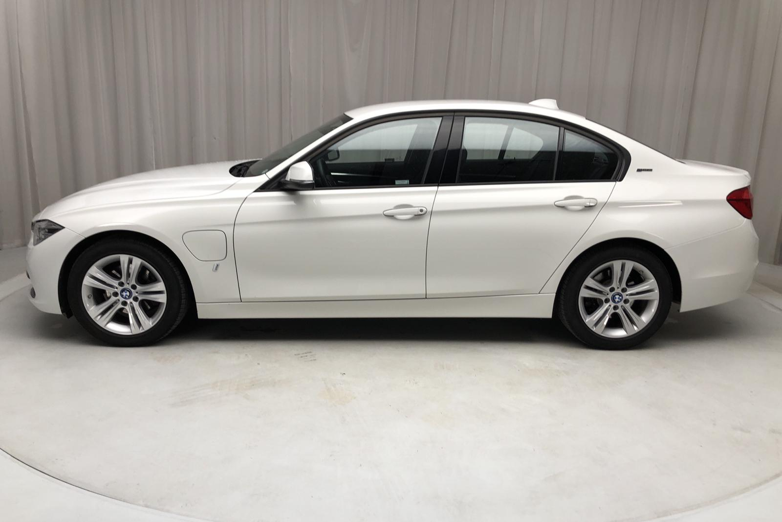 BMW 330e Sedan, F30 Sport Line Navi (252hk) - 52 010 km - Automatic - white - 2018