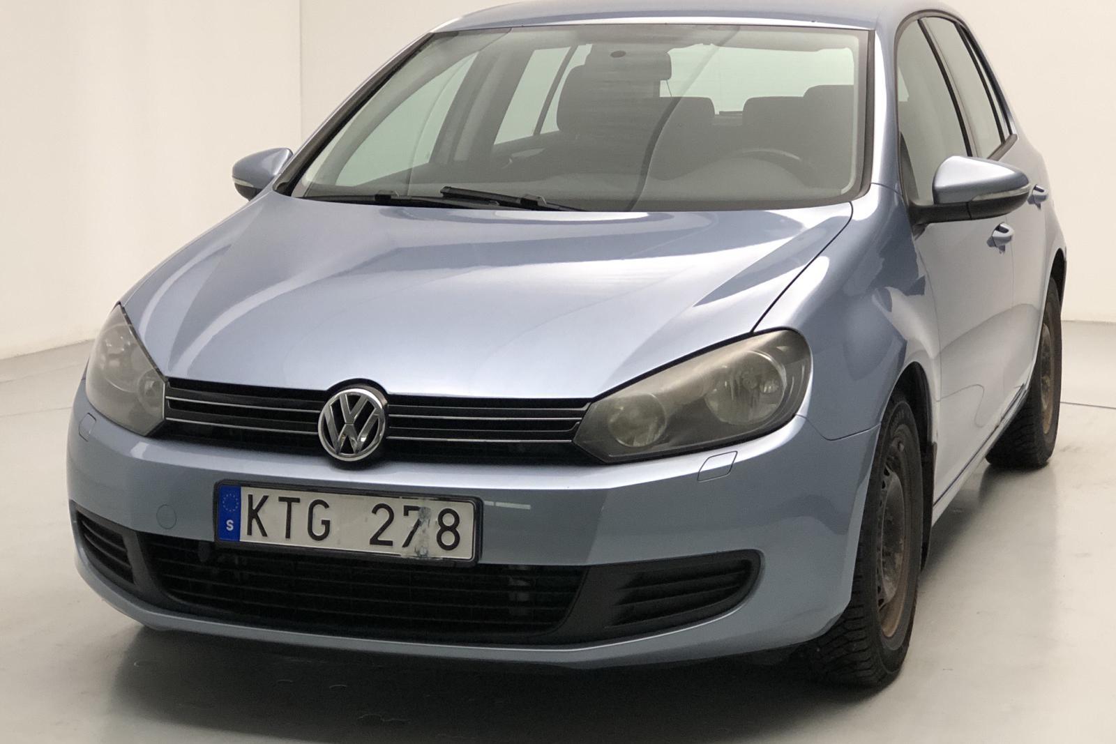 VW Golf VI 1.4 TSI 5dr (122hk) - 119 000 km - Manual - Light Blue - 2011