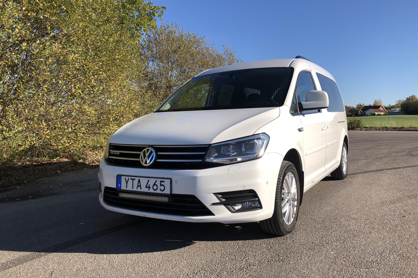 VW Caddy MPV Maxi  Life 1.4 TGI (110hk) - 0 km - Automatic - white - 2018