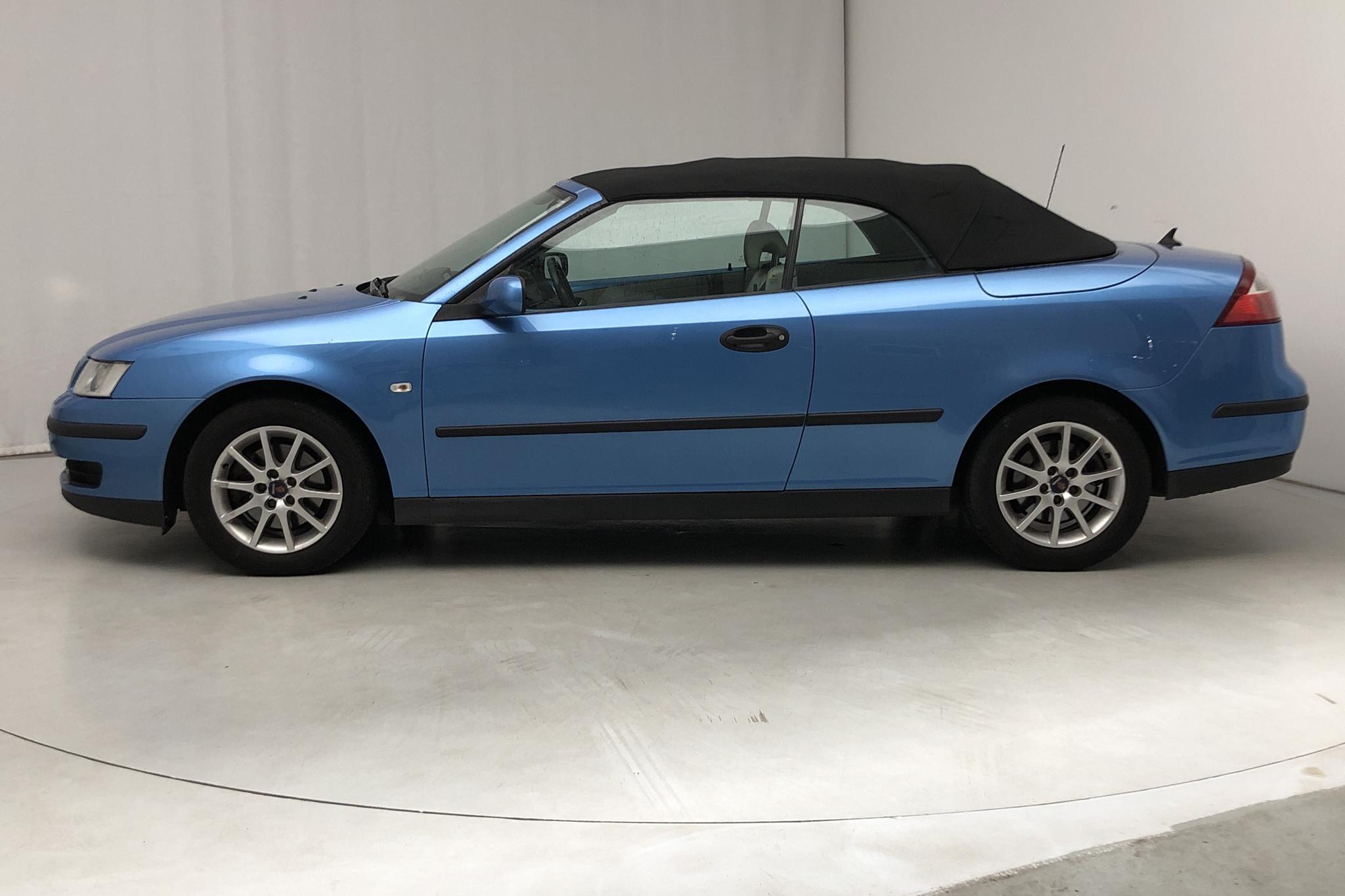 Saab 9-3 1.8t Cabriolet (150hk) - 172 280 km - Automatic - Light Blue - 2006