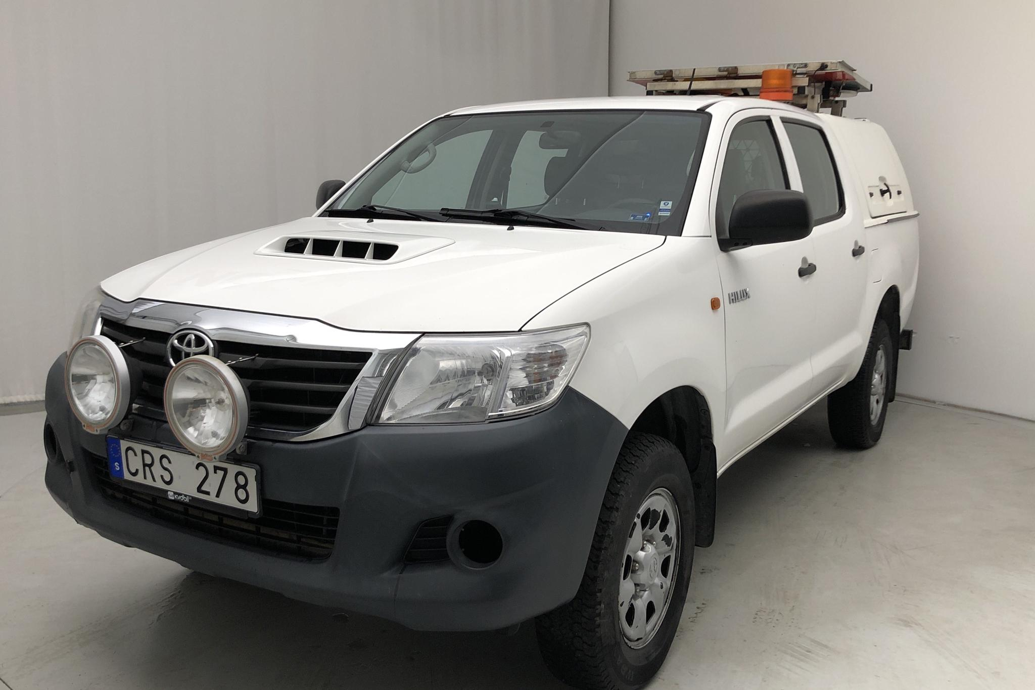 Toyota Hilux 2.5 D-4D 4WD (144hk) - 0 km - Manual - white - 2012