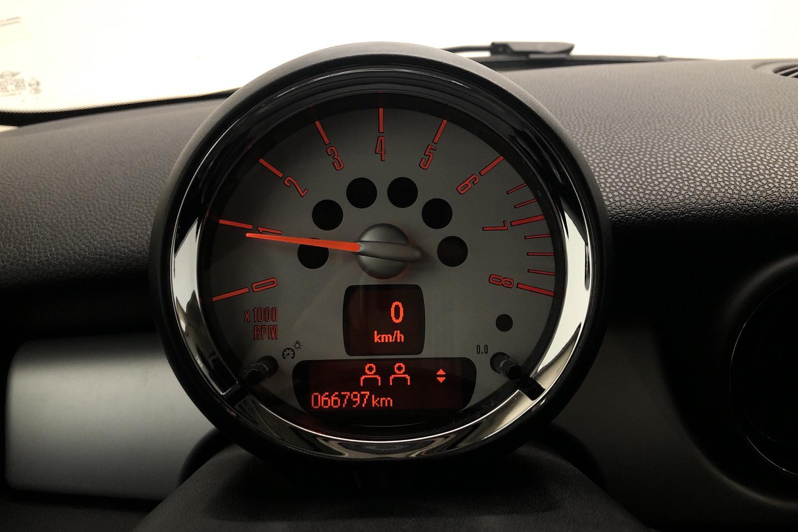 MINI One MINIMALIST (98hk) - 66 000 km - Manual - green - 2014