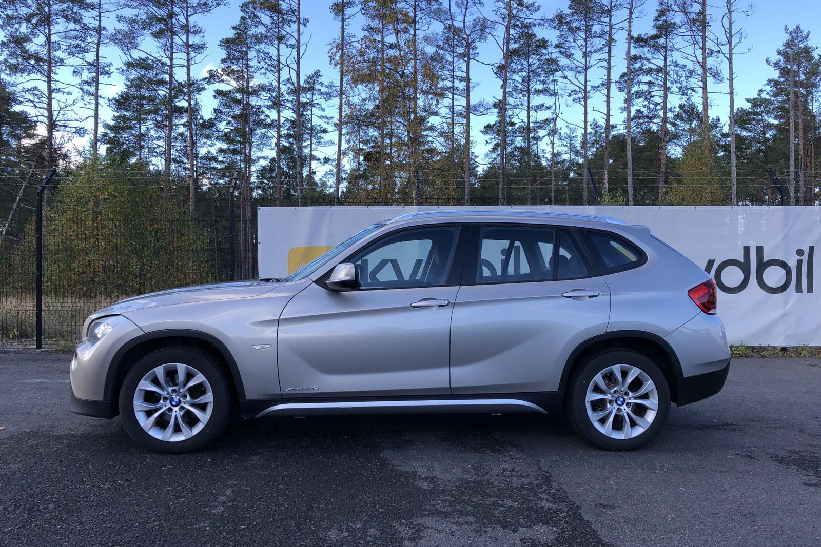 BMW X1 xDrive20d, E84 (177hk) - 162 000 km - Automatic - silver - 2010