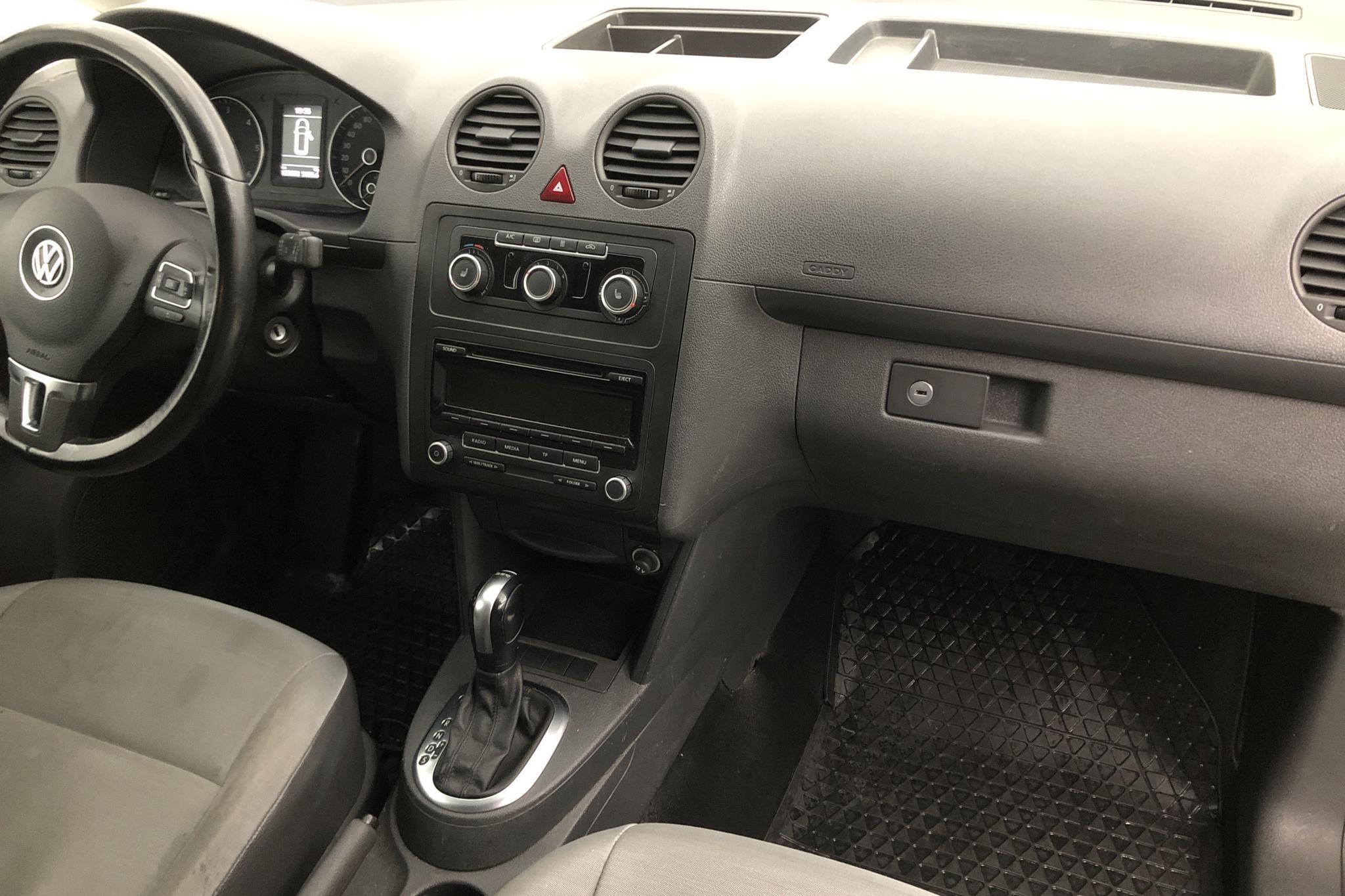 VW Caddy 1.6 TDI Maxi Skåp (102hk) - 0 km - Automatic - white - 2015