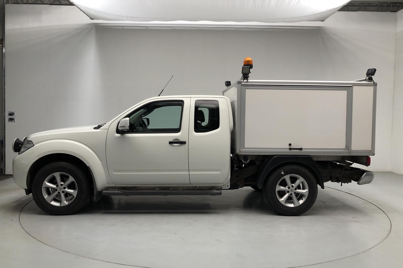 Nissan Navara 2.5 dCi (190hk) - 0 mil - Manuell - vit - 2012