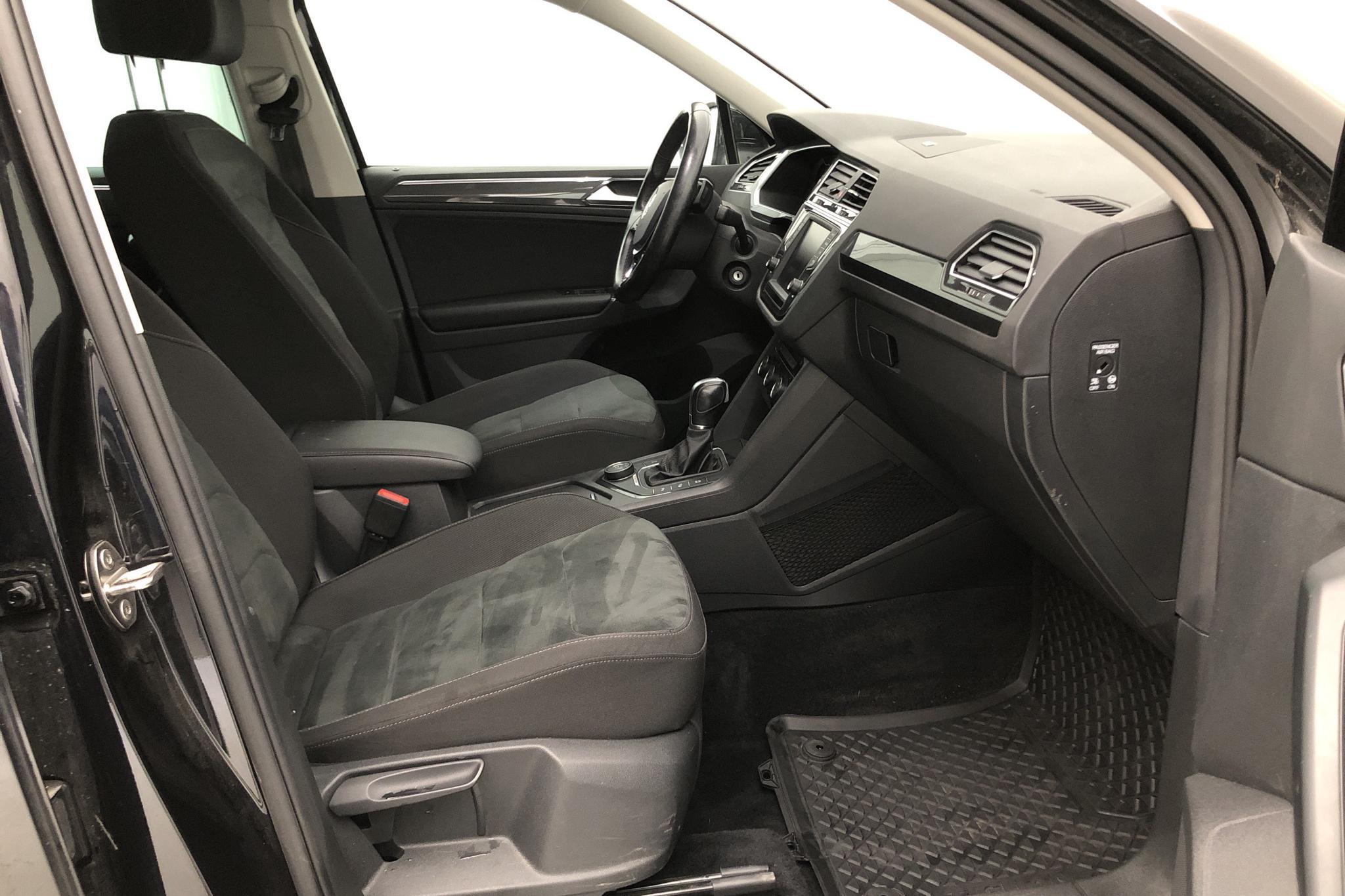 VW Tiguan 2.0 TDI 4MOTION (190hk) - 84 871 km - Automatic - black - 2017