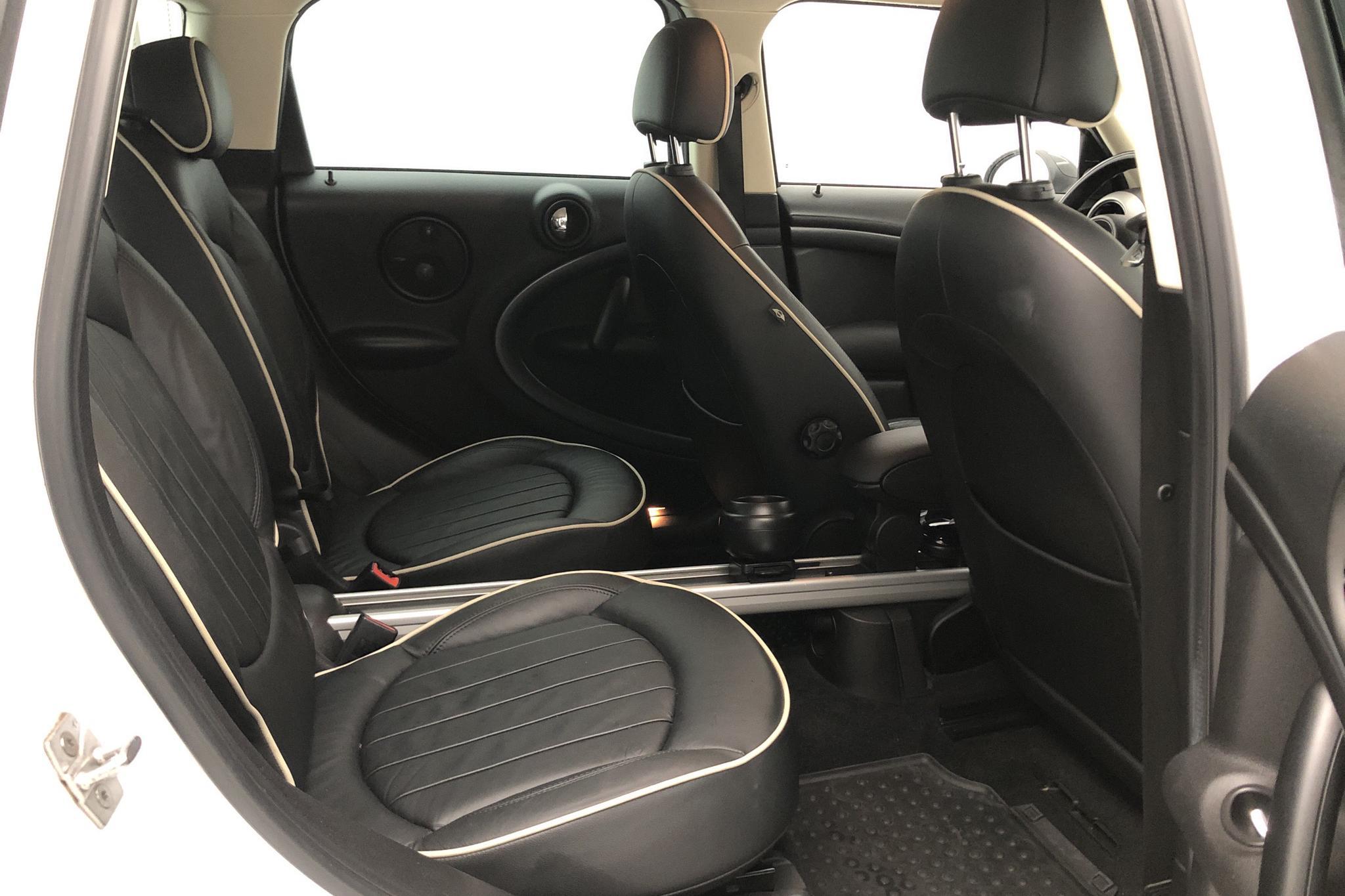 MINI Cooper S ALL4 Countryman (184hk) - 7 044 mil - Automat - vit - 2010
