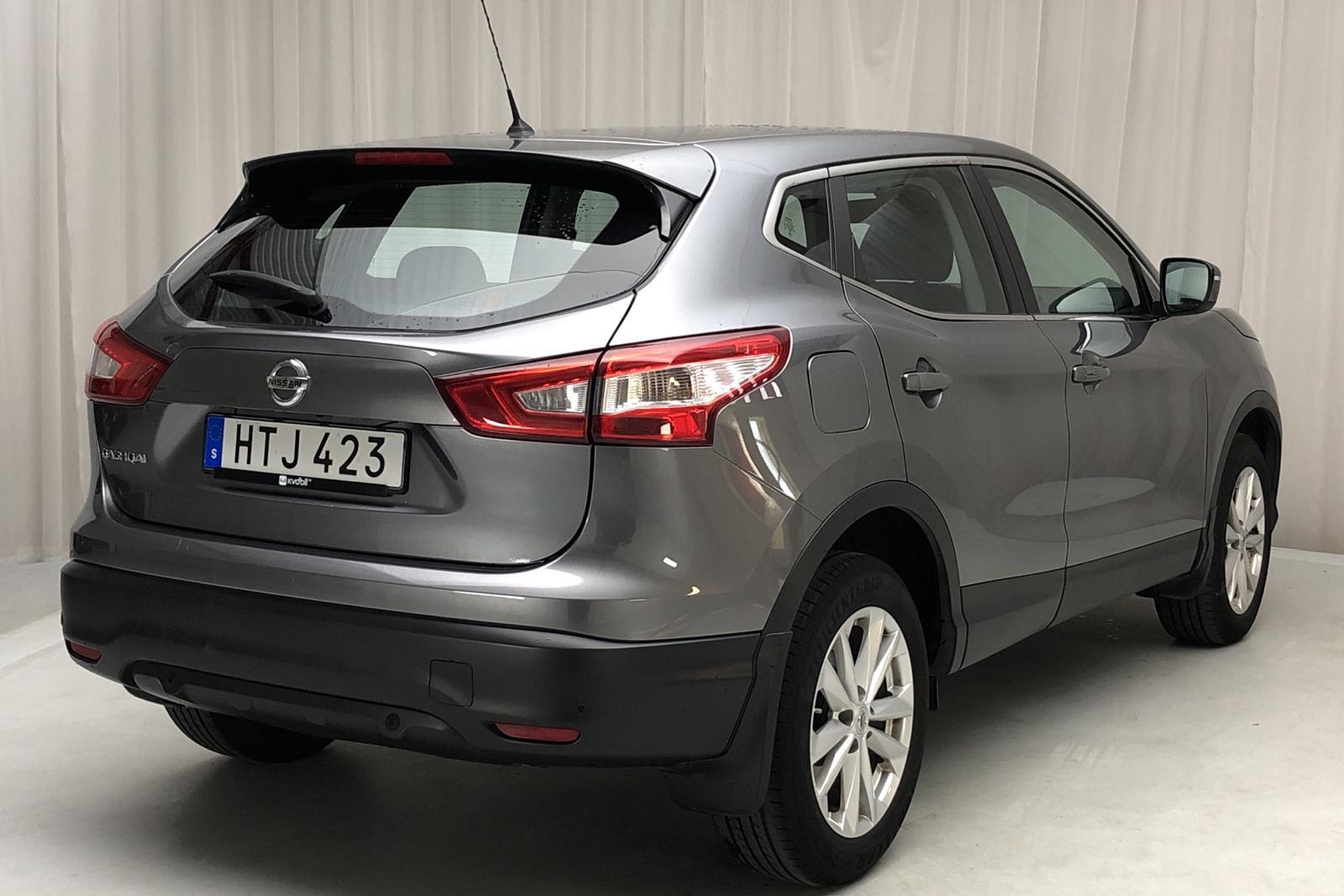 Nissan Qashqai 1.2 (115hk) - 53 000 km - Manual - gray - 2015
