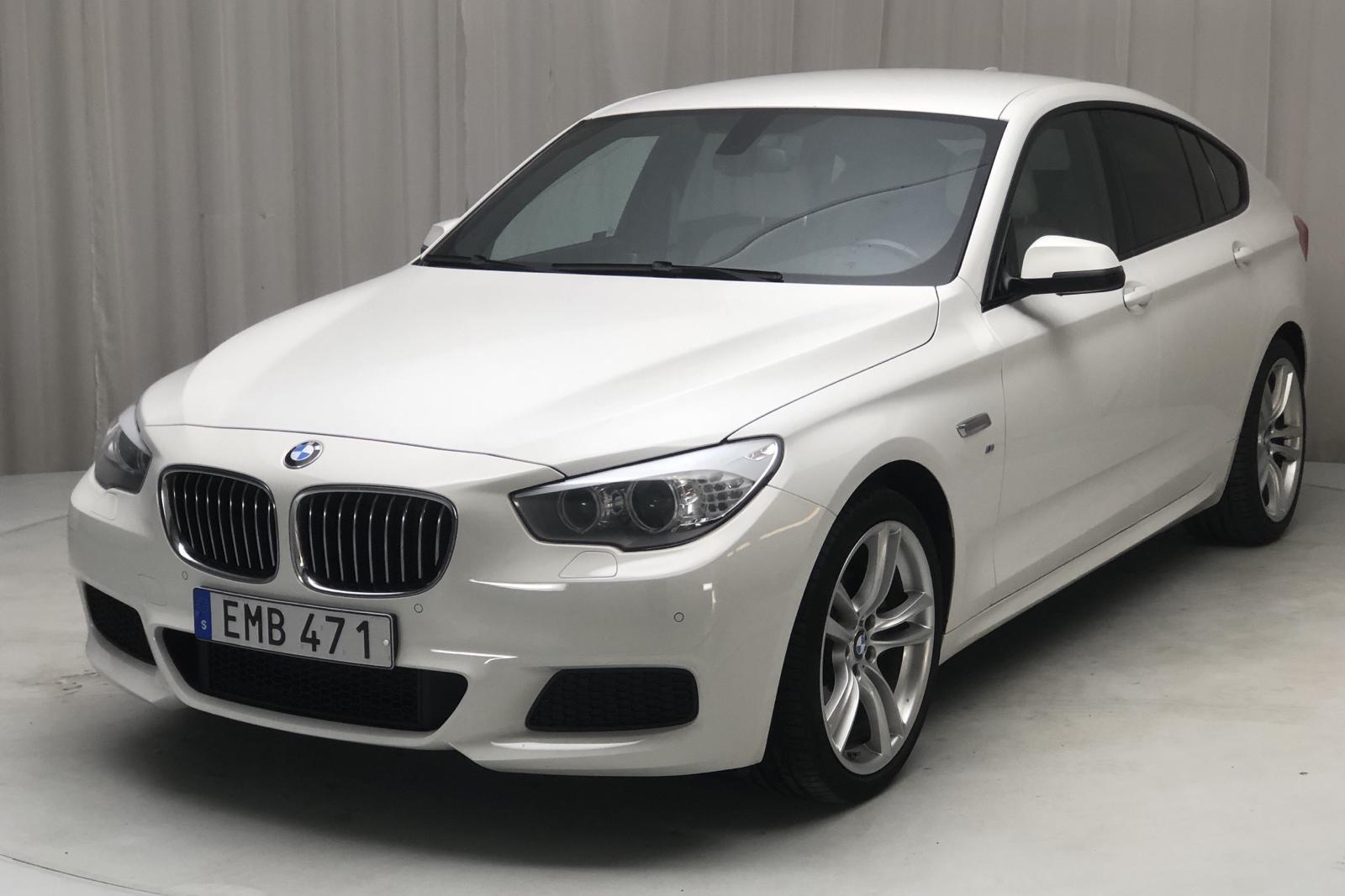 BMW 520d GT, F07 (184hk) - 13 500 mil - Automat - vit - 2015