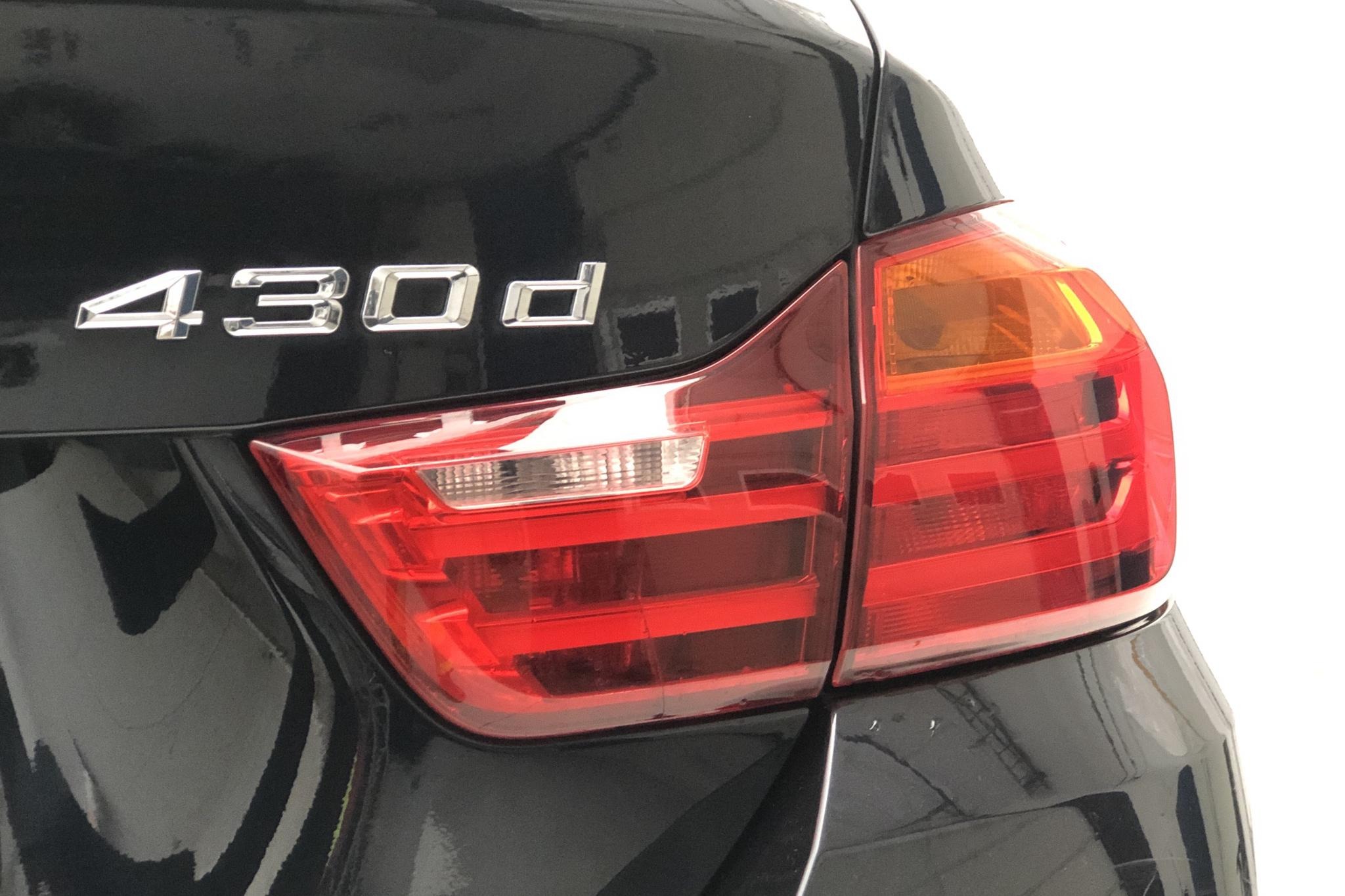 BMW 430d xDrive Gran Coupé, F36 (258hk) - 102 000 km - Automatic - black - 2015